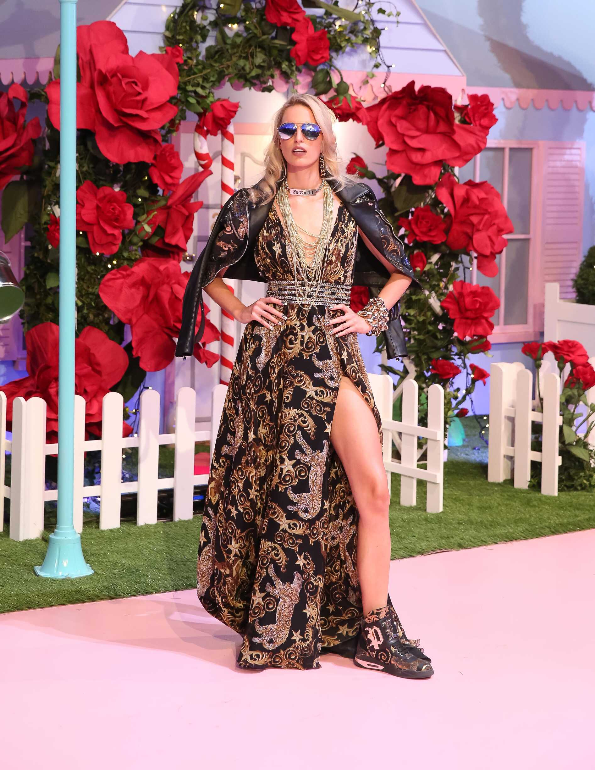Womenswear Spring Summer Philipp Plein 2017 Milan Fashion Week