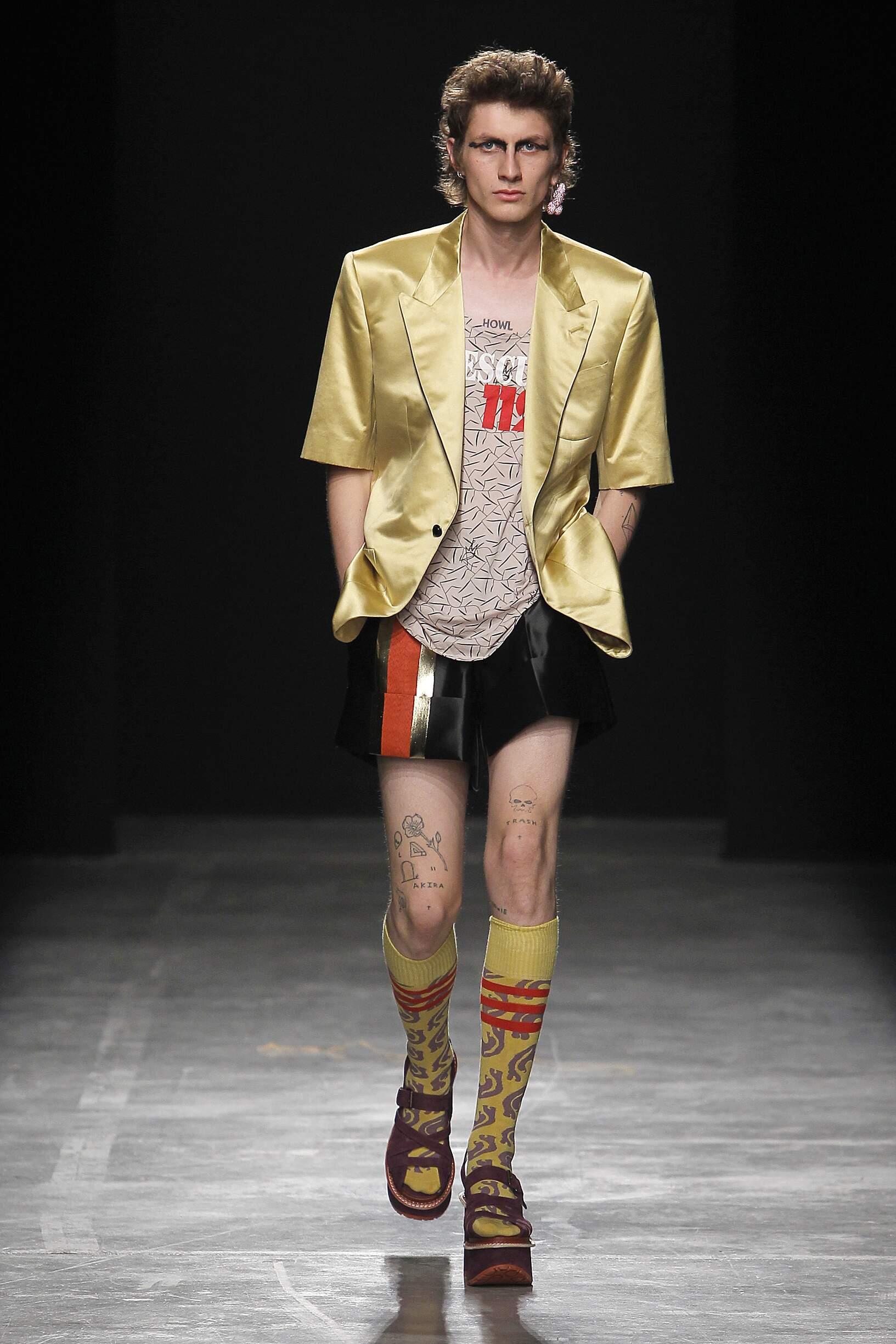 2017 Andreas Kronthaler for Vivienne Westwood Catwalk Paris Fashion Week