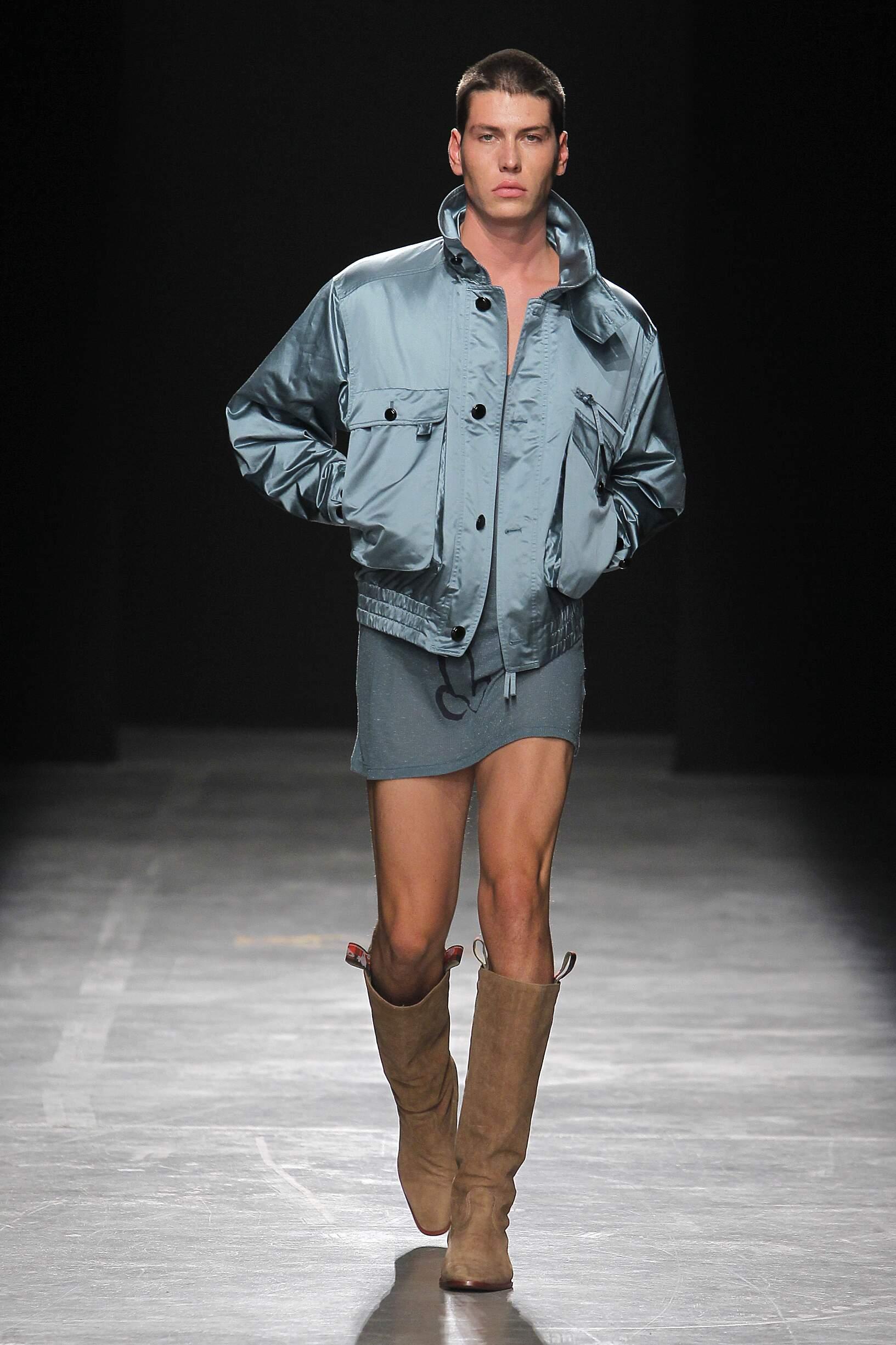 2017 Andreas Kronthaler for Vivienne Westwood Spring Summer Man