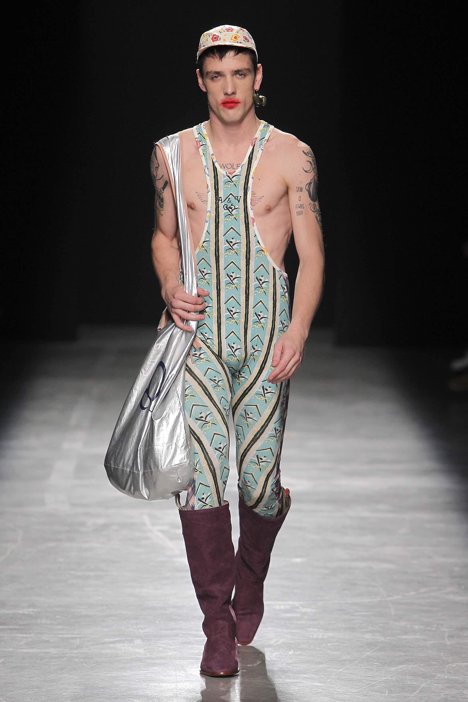 2017 Catwalk Andreas Kronthaler for Vivienne Westwood Man Fashion Show Summer