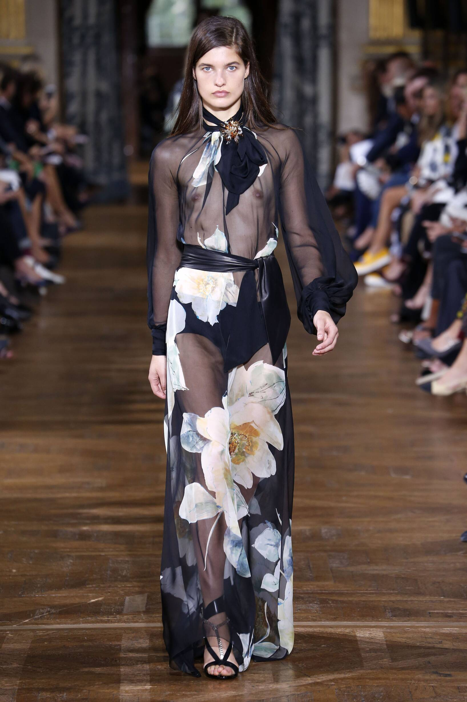 2017 Catwalk Lanvin Woman Fashion Show Summer
