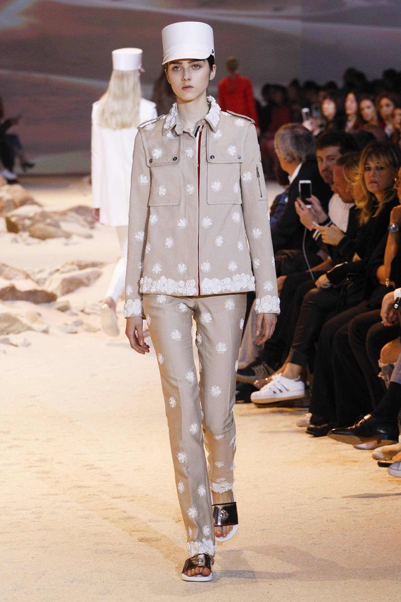 2017 Moncler Gamme Rouge Spring Summer Woman