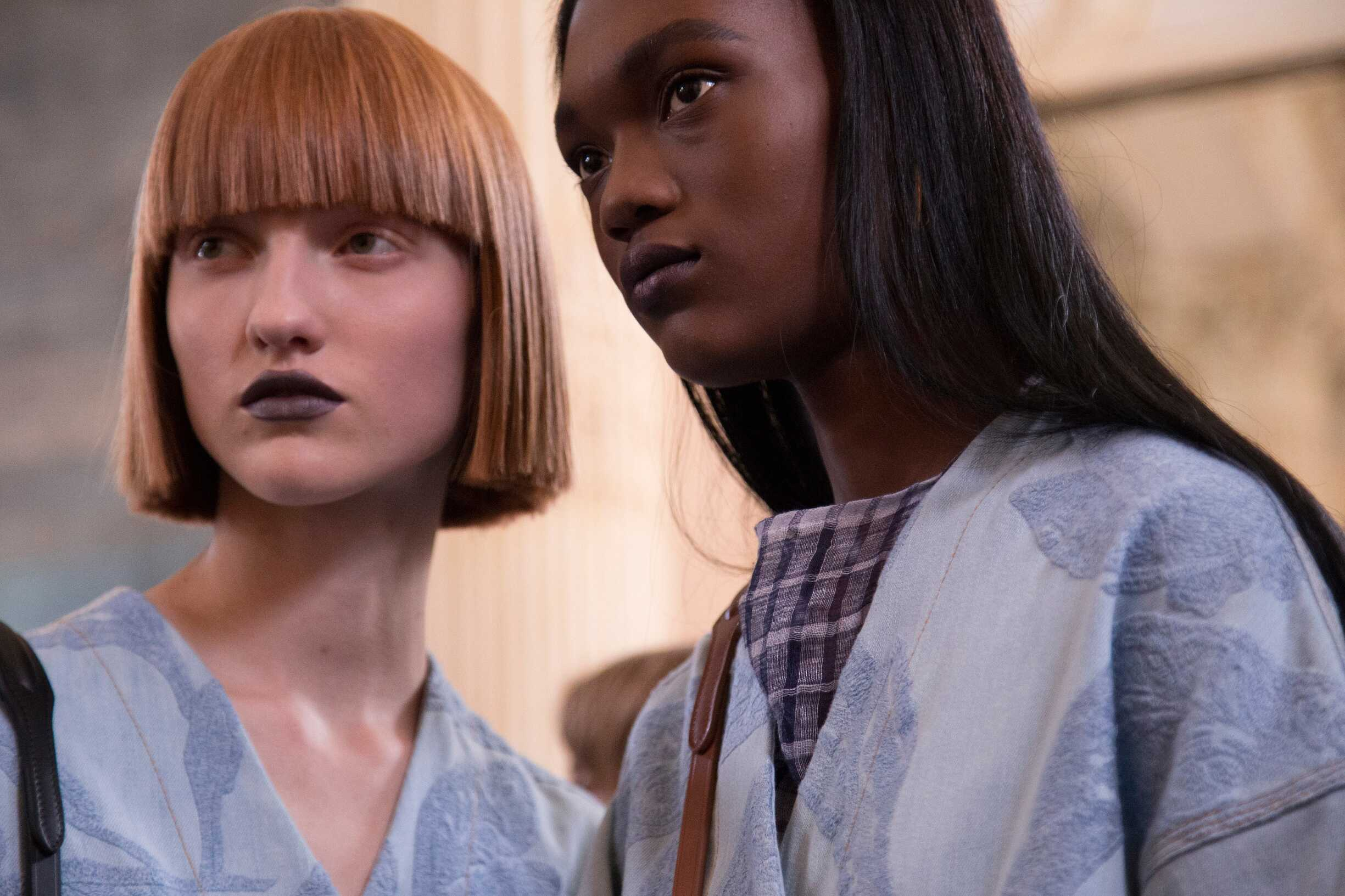 Acne Studios Backstage Fashion Models Paris