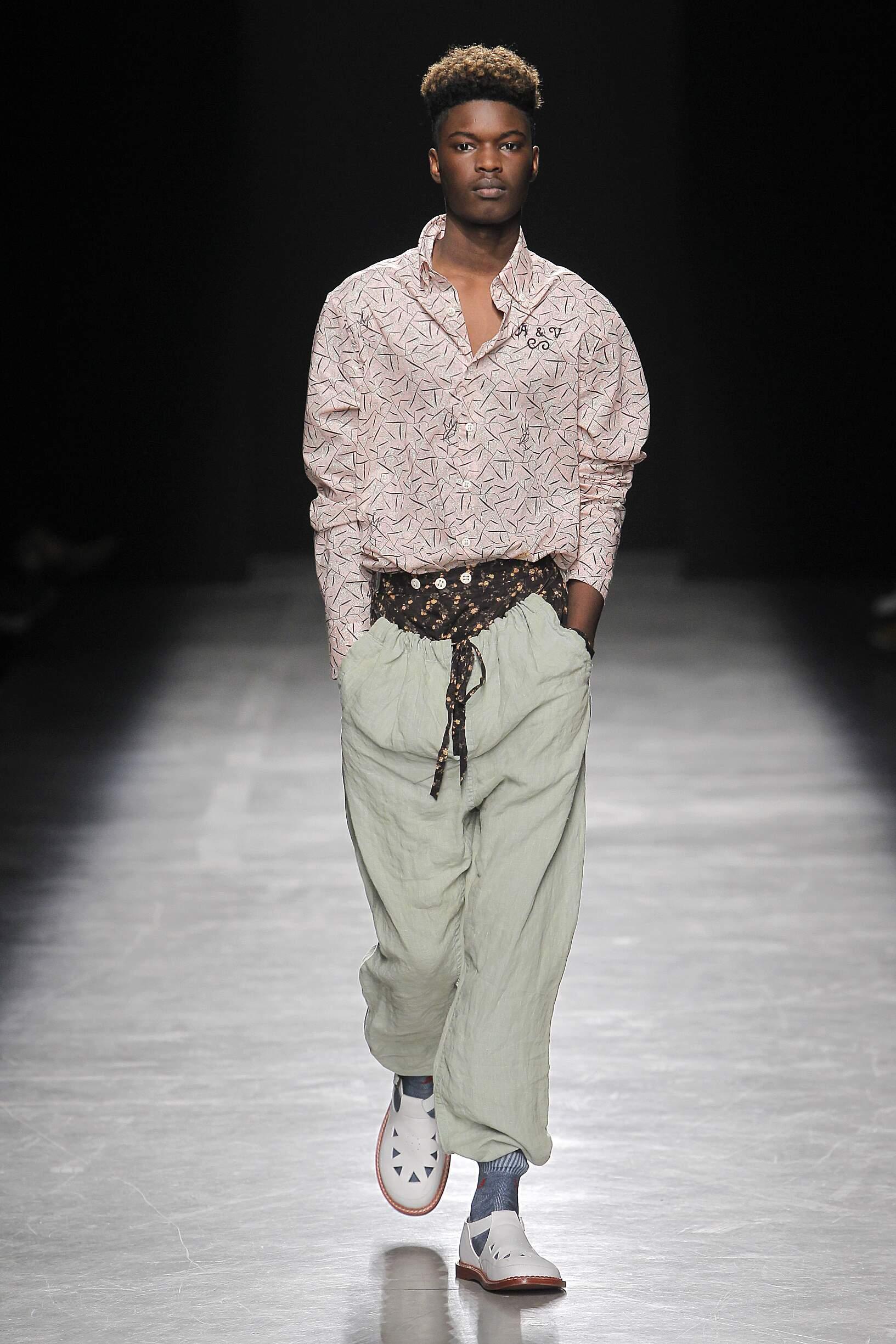 Andreas Kronthaler for Vivienne Westwood 2017 Menswear