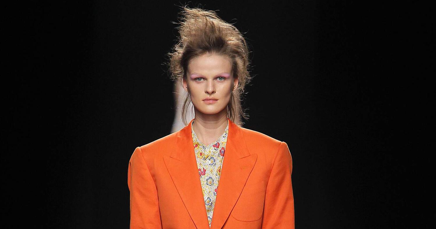 Andreas Kronthaler for Vivienne Westwood Fashion Show SS 2017 Paris