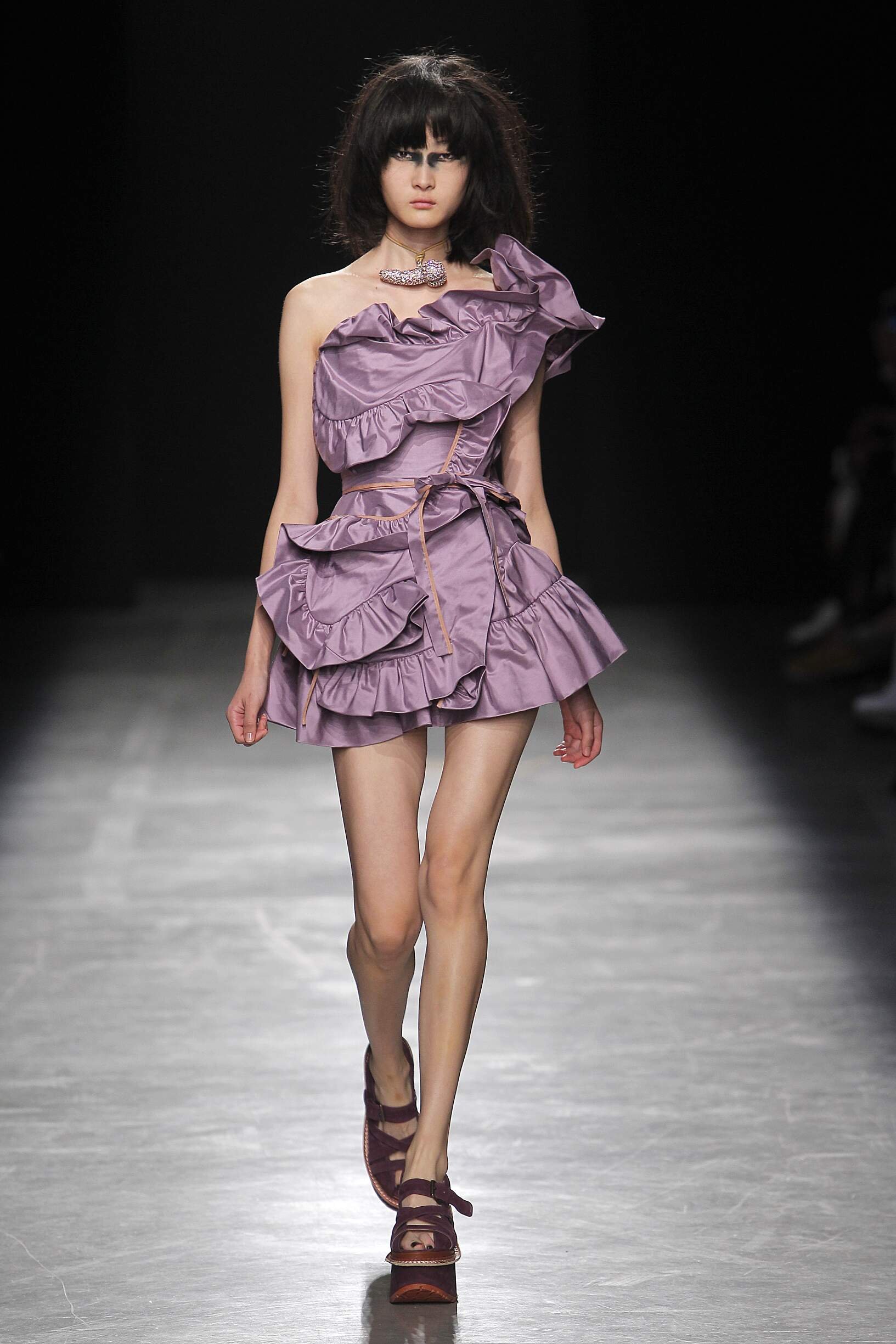 Andreas Kronthaler for Vivienne Westwood Fashion Show