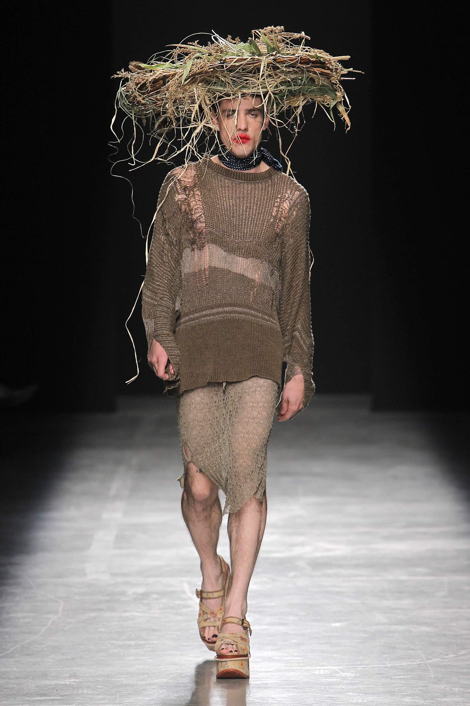 Andreas Kronthaler for Vivienne Westwood Paris Fashion Week Menswear