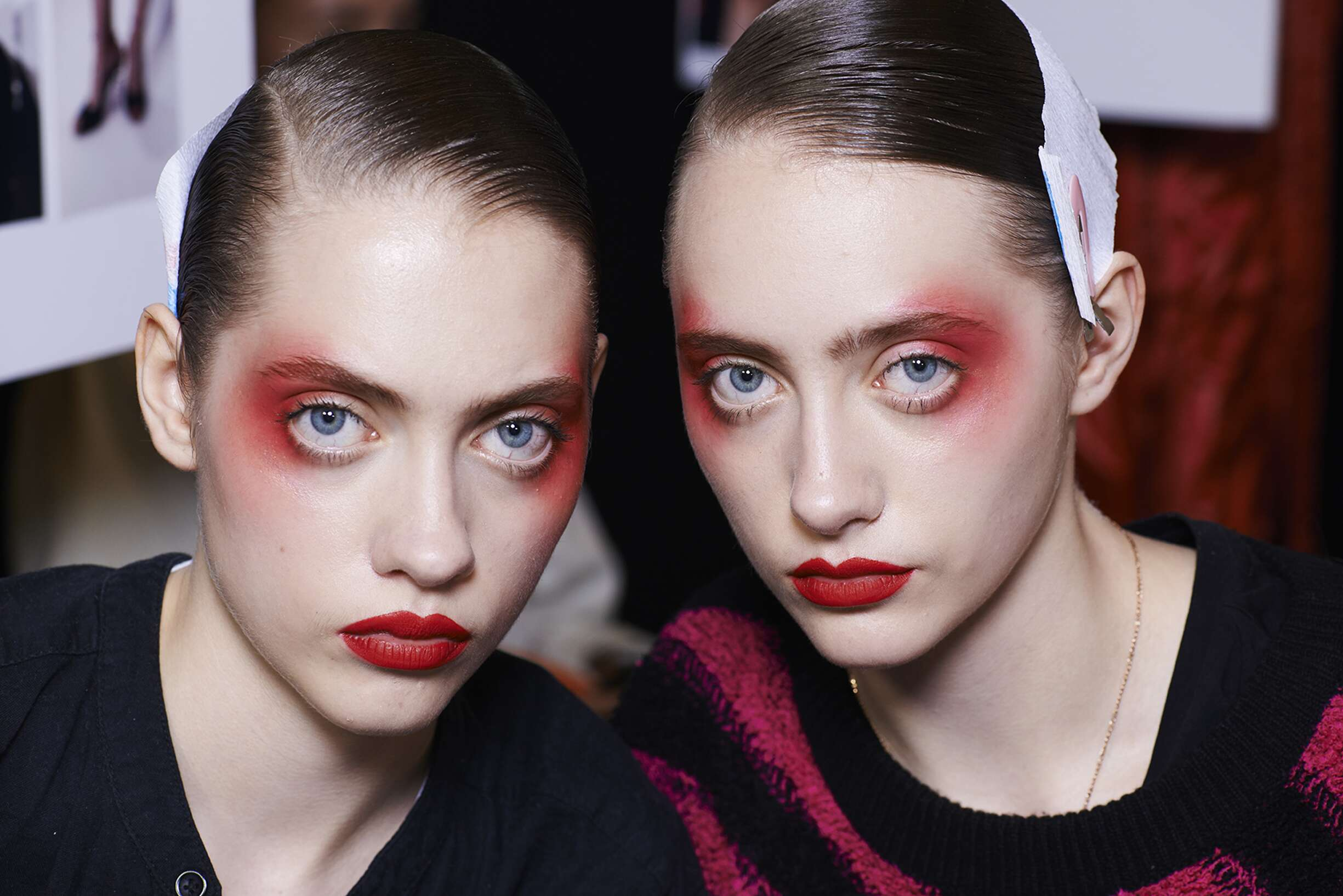 Backstage Make Up Kenzo Models
