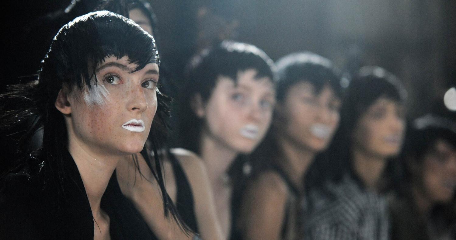Backstage Yohji Yamamoto Fashion Show Paris