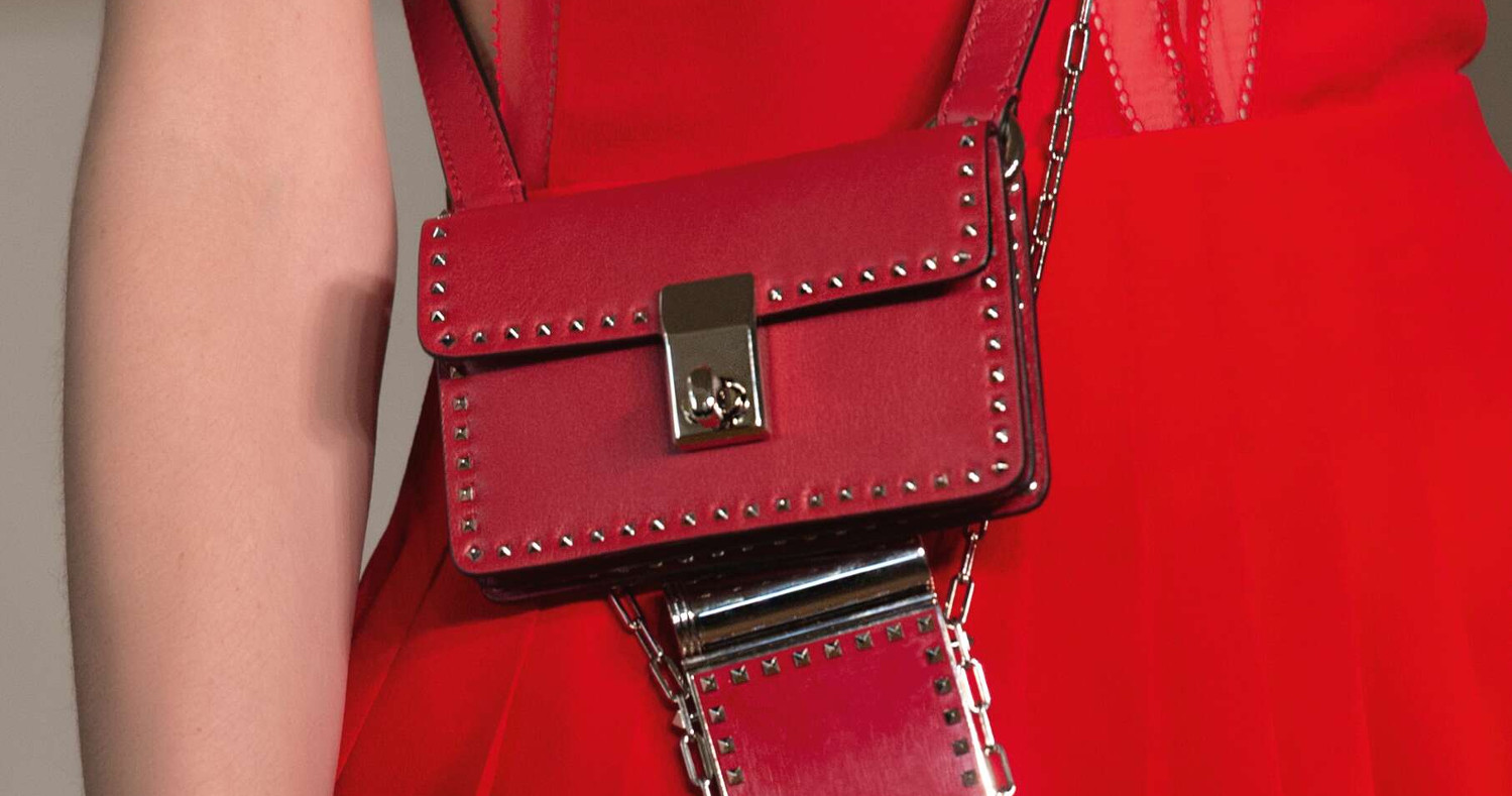 Bag 2017 Fashion Trends Valentino Paris