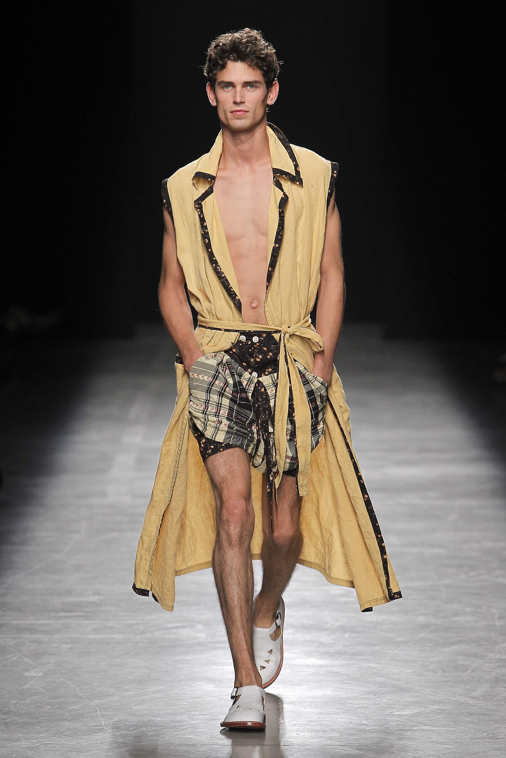 Catwalk Andreas Kronthaler for Vivienne Westwood Man Fashion Show Summer 2017