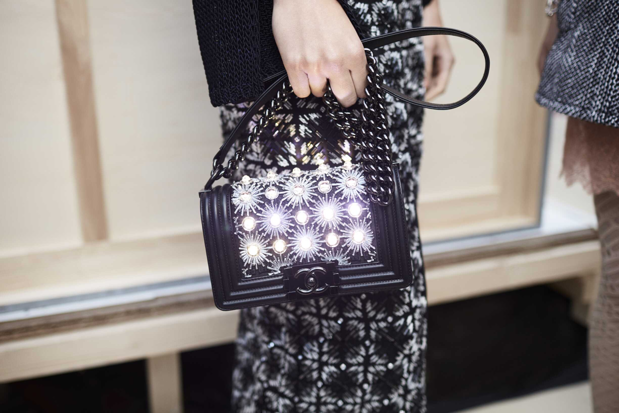 Detail Fashion Bag Chanel Paris