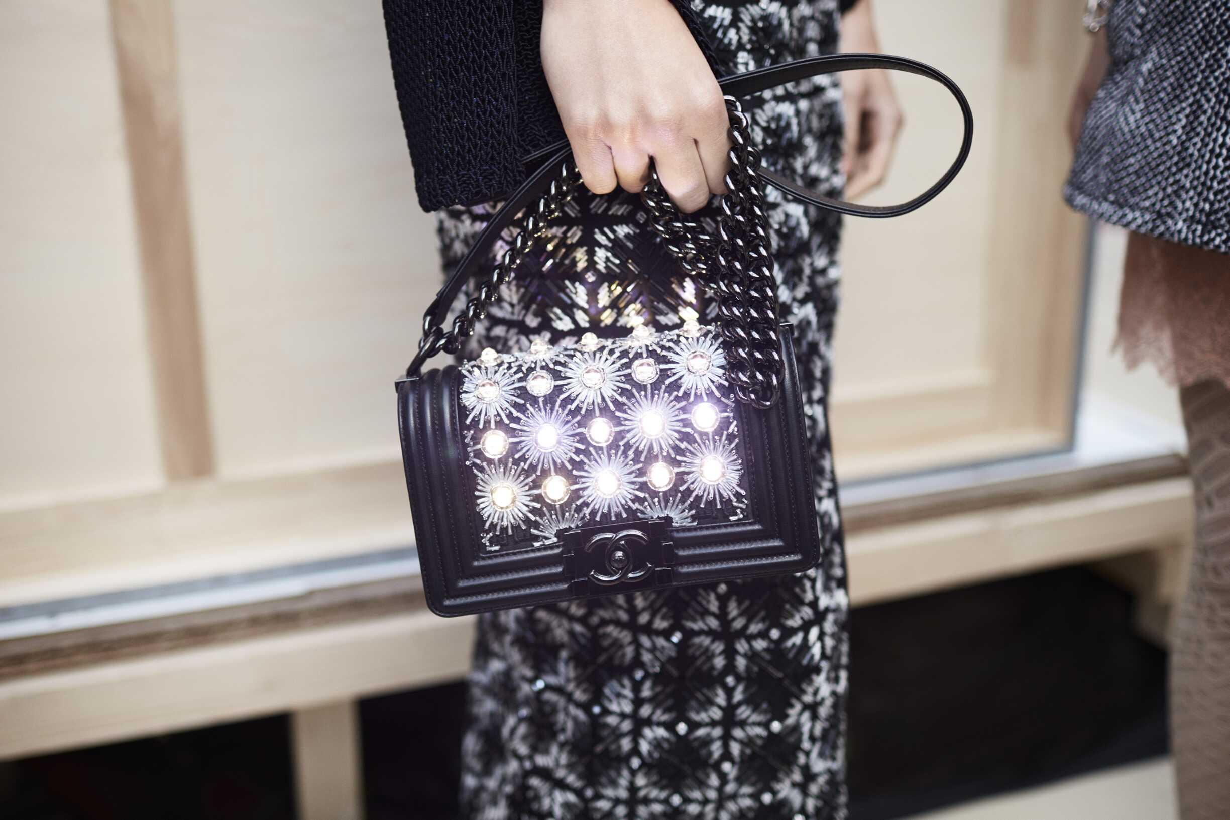 Detail Fashion Bag Chanel Paris
