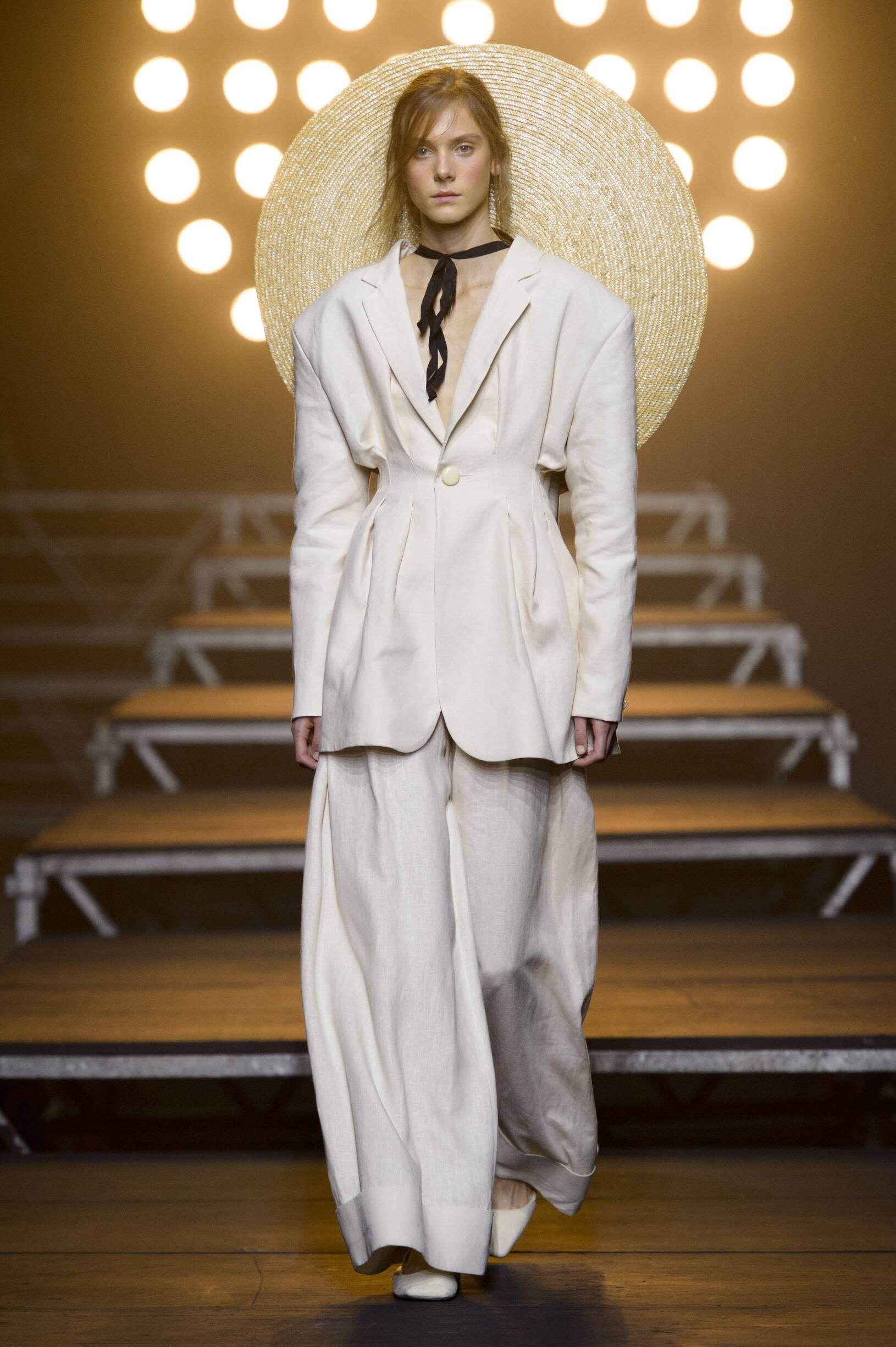 Fashion Model Jacquemus Catwalk