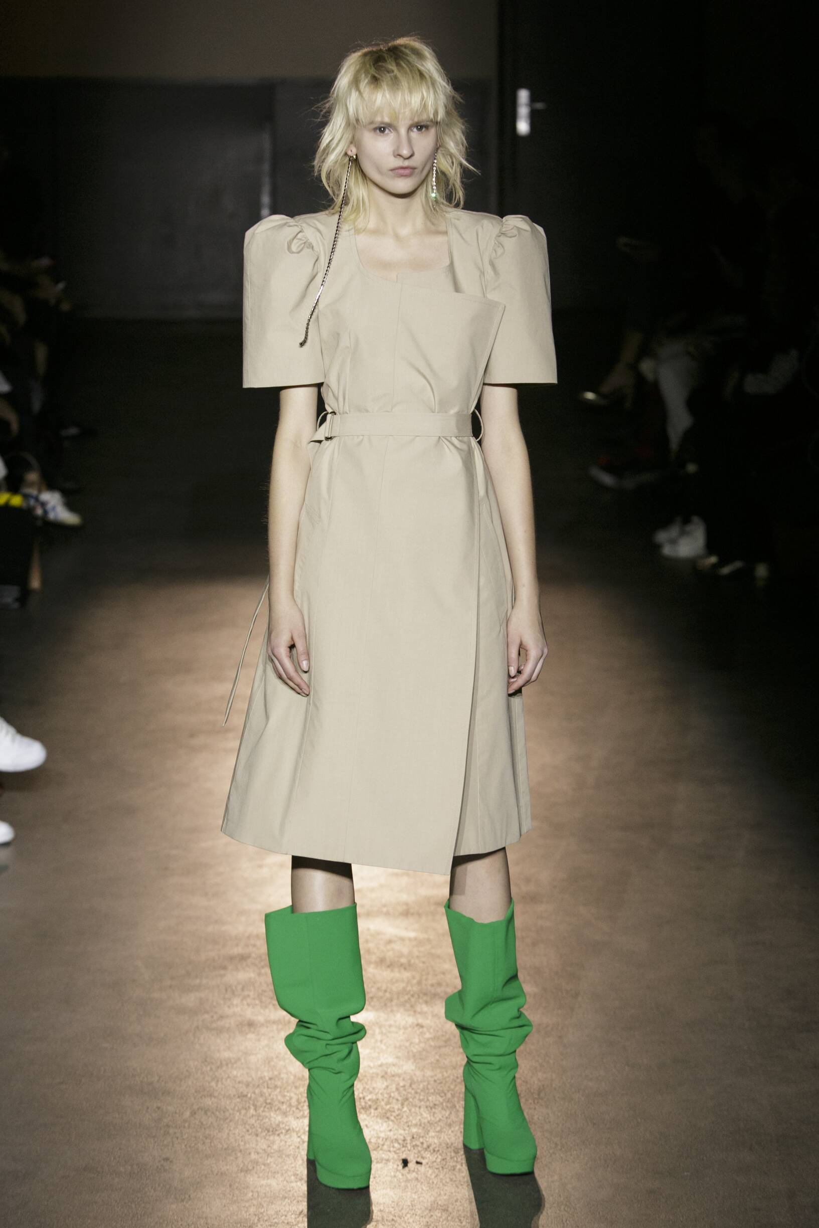 Fashion Model Lutz Huelle Catwalk