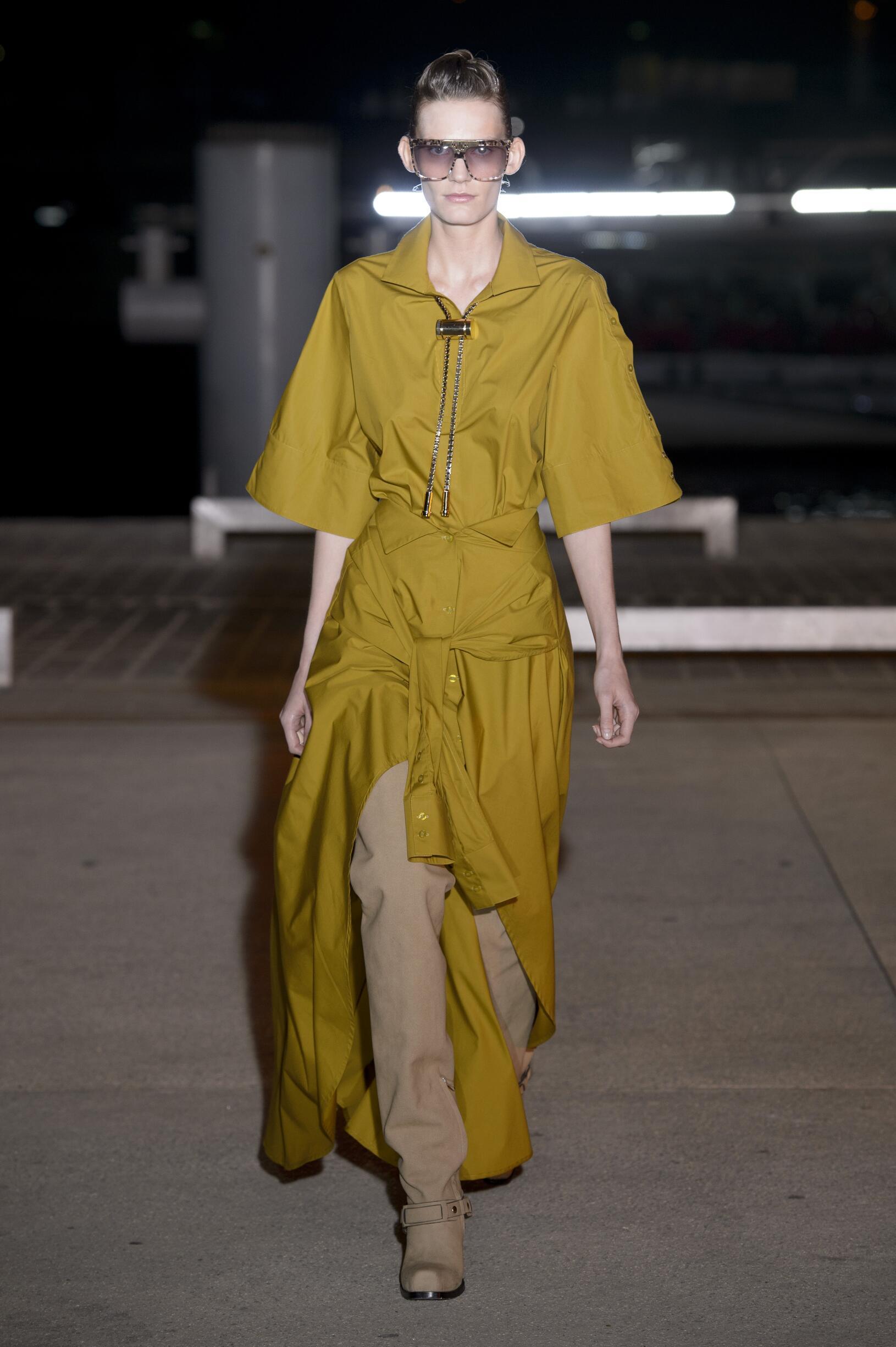 Fashion Model Wanda Nylon Catwalk