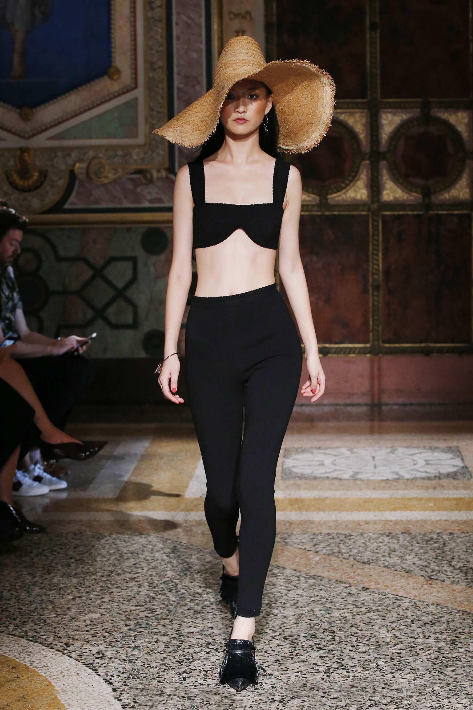 Fashion Woman Model Blumarine Catwalk