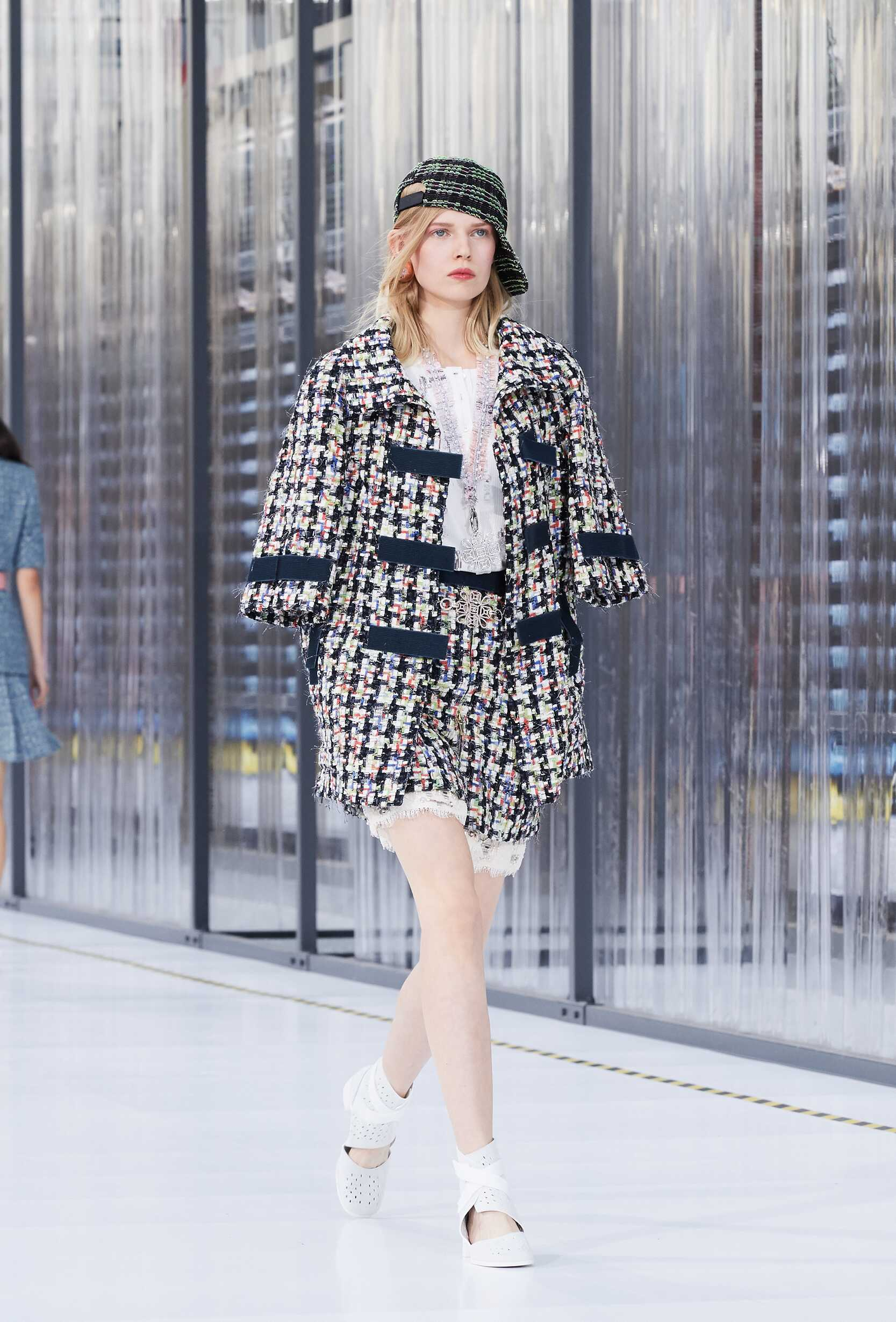 Fashion Woman Model Chanel Catwalk
