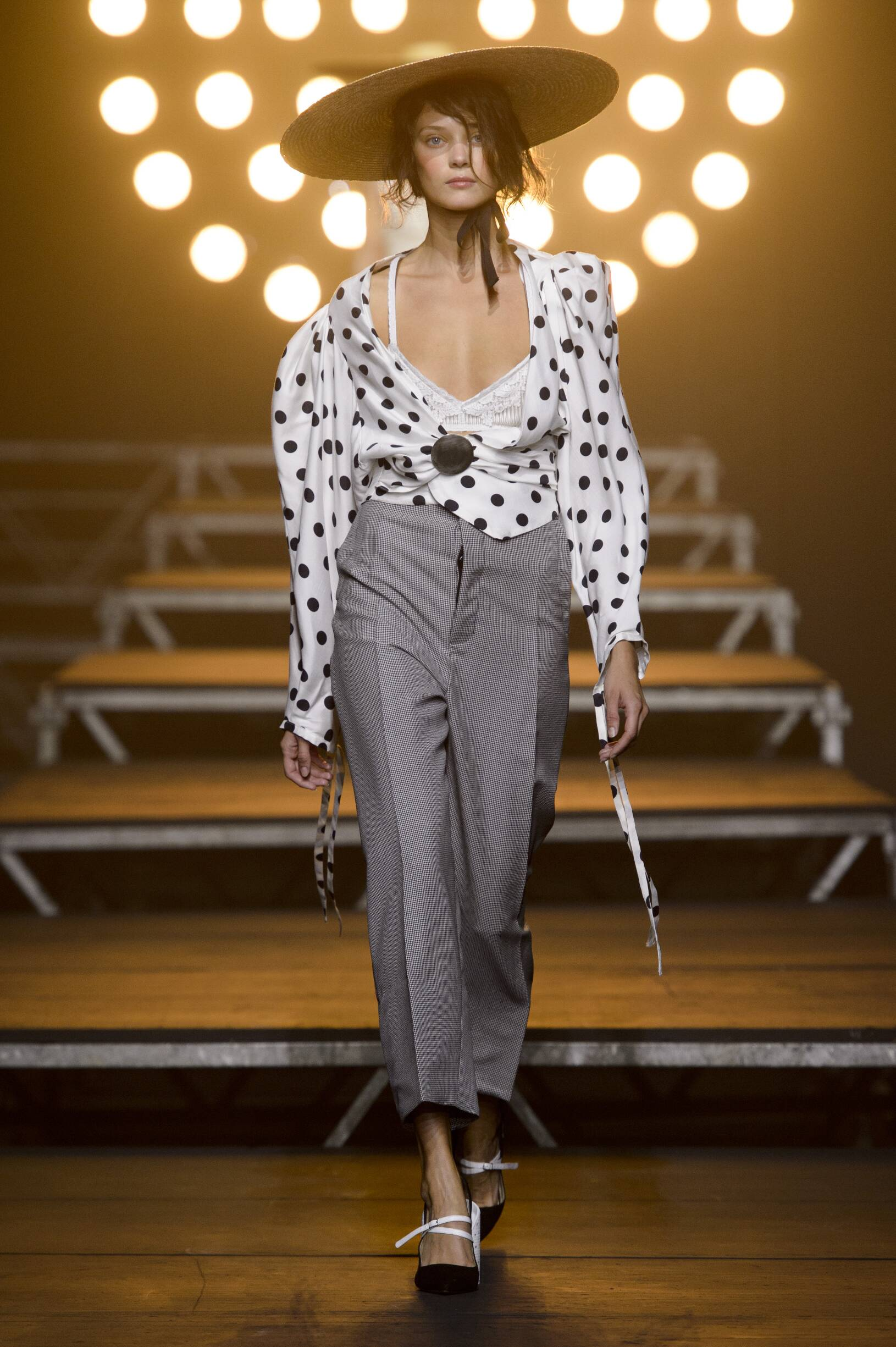 Fashion Woman Model Jacquemus Catwalk