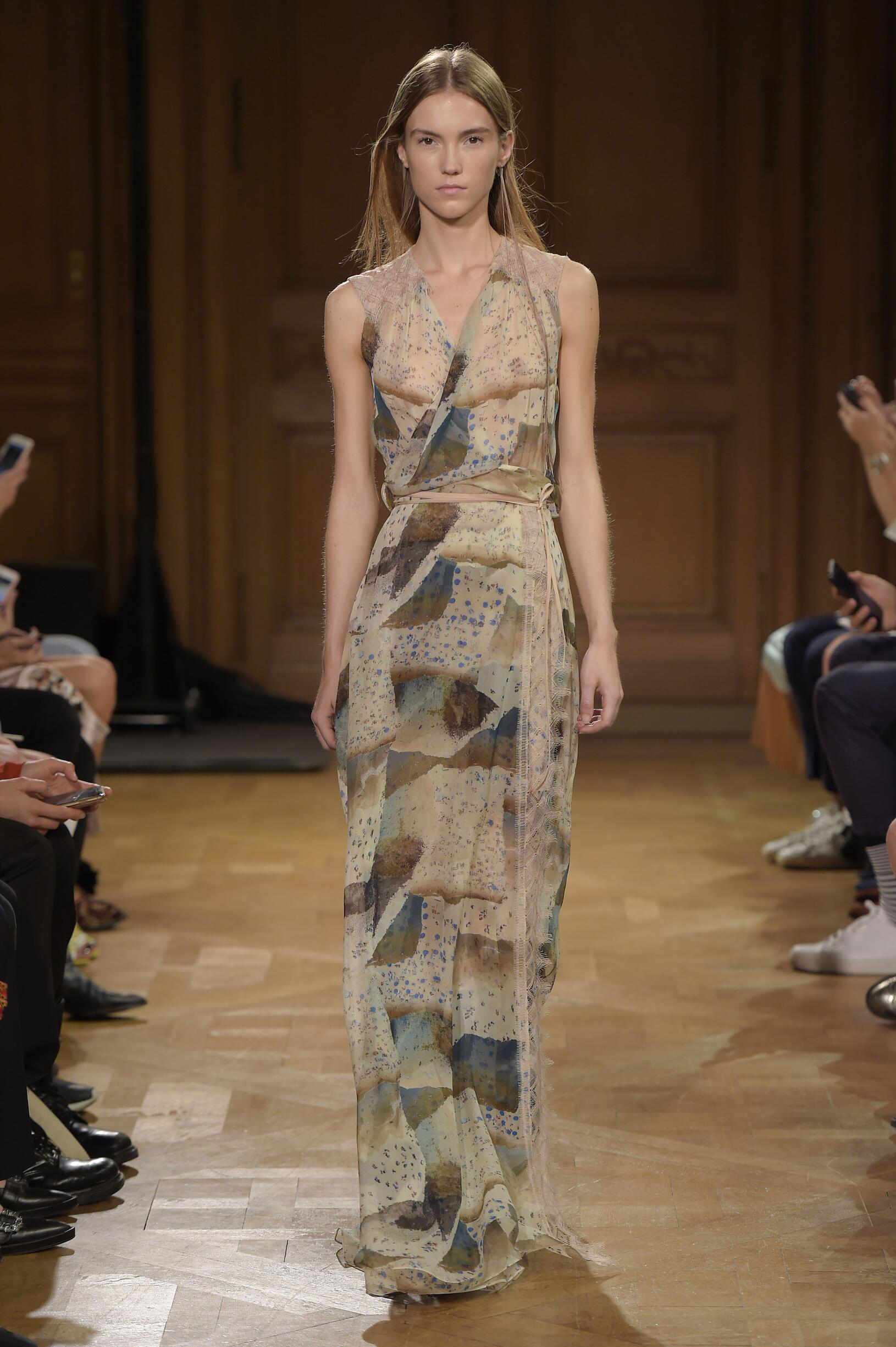 Fashion Woman Model Vionnet Catwalk