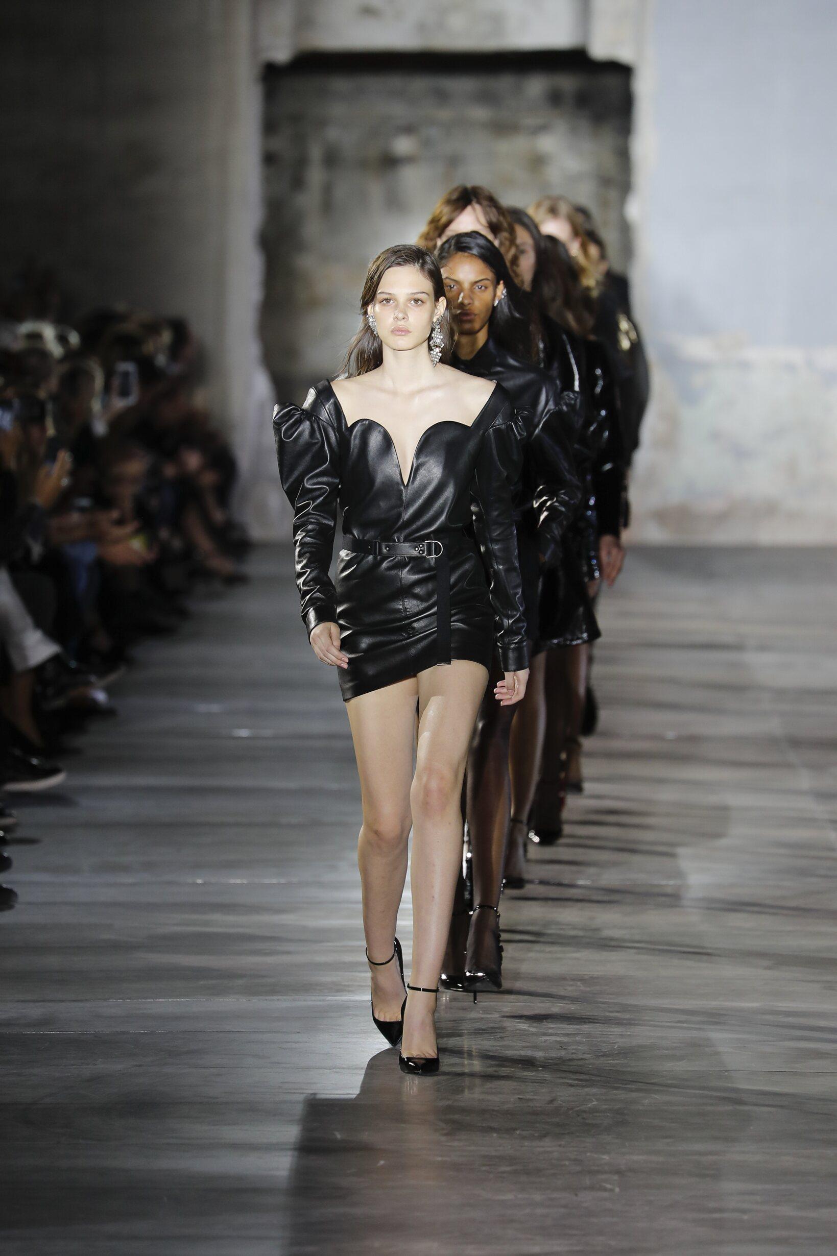 Finale Saint Laurent Catwalk Paris Fashion Week