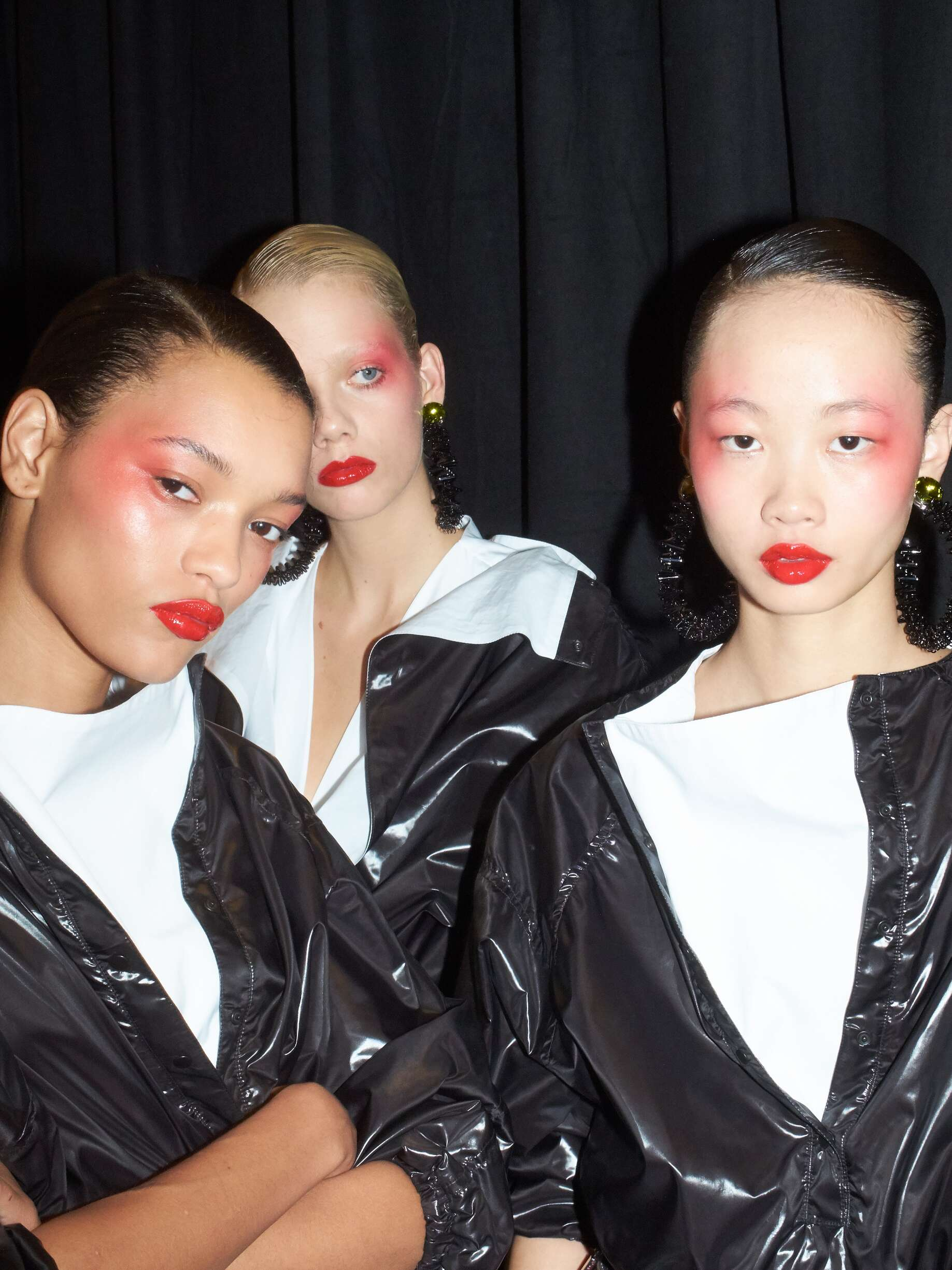 Kenzo Backstage Models