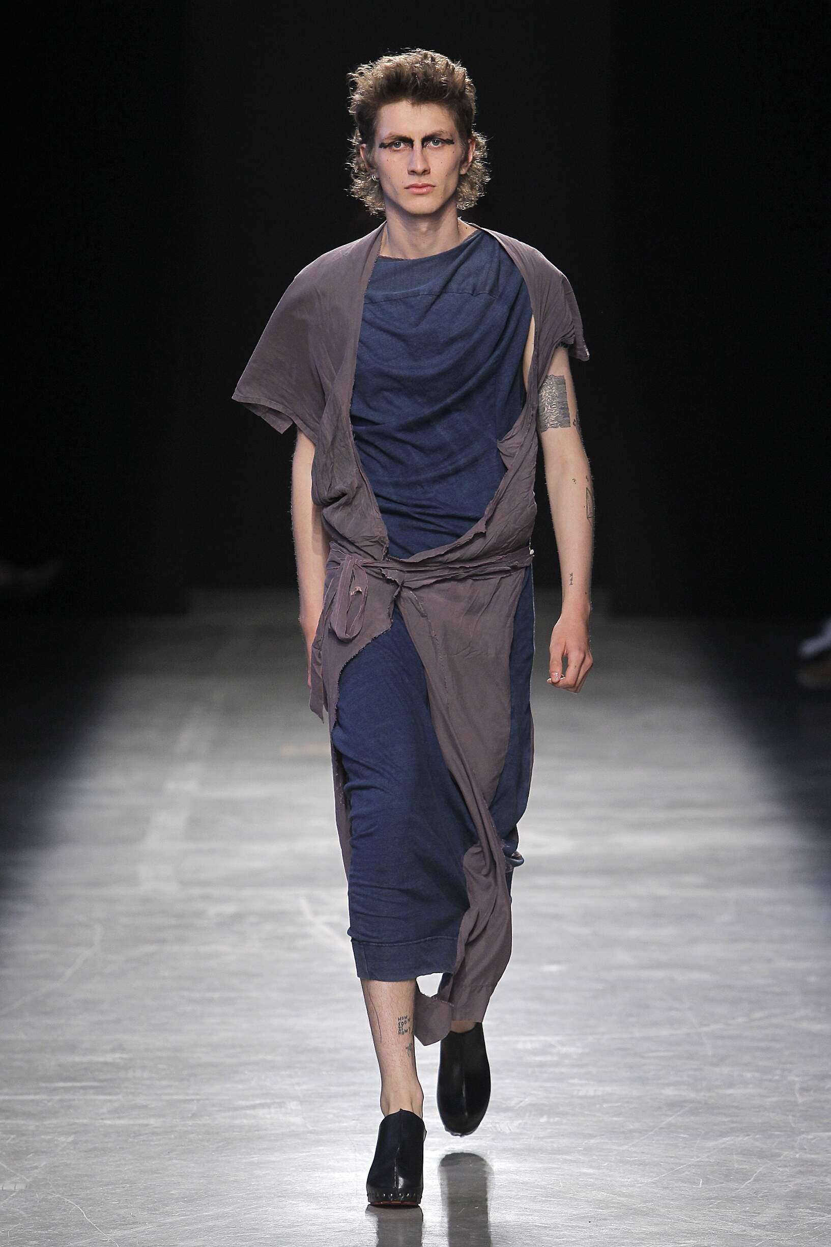 Man Catwalk Andreas Kronthaler for Vivienne Westwood