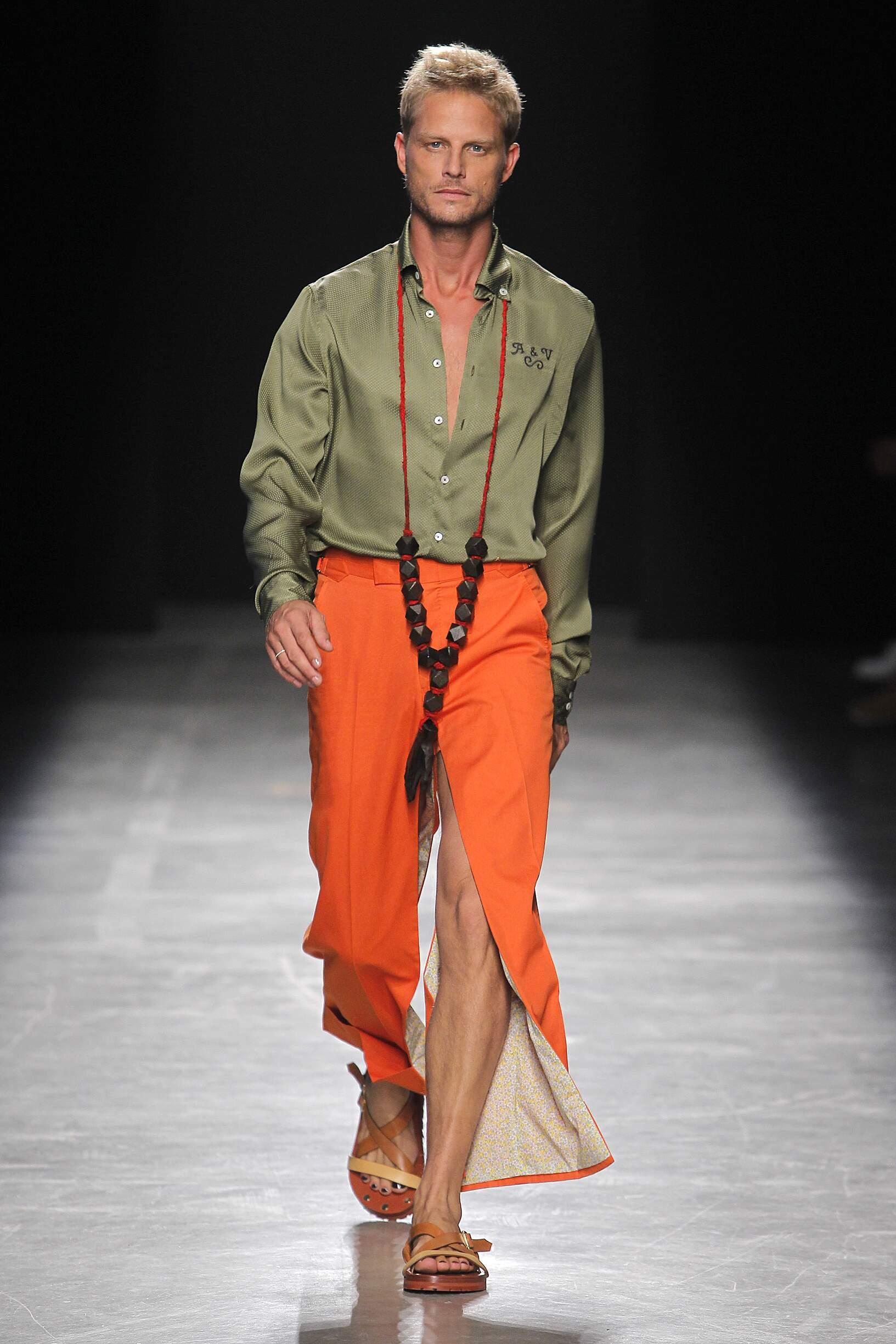 Menswear Spring Summer Andreas Kronthaler for Vivienne Westwood 2017