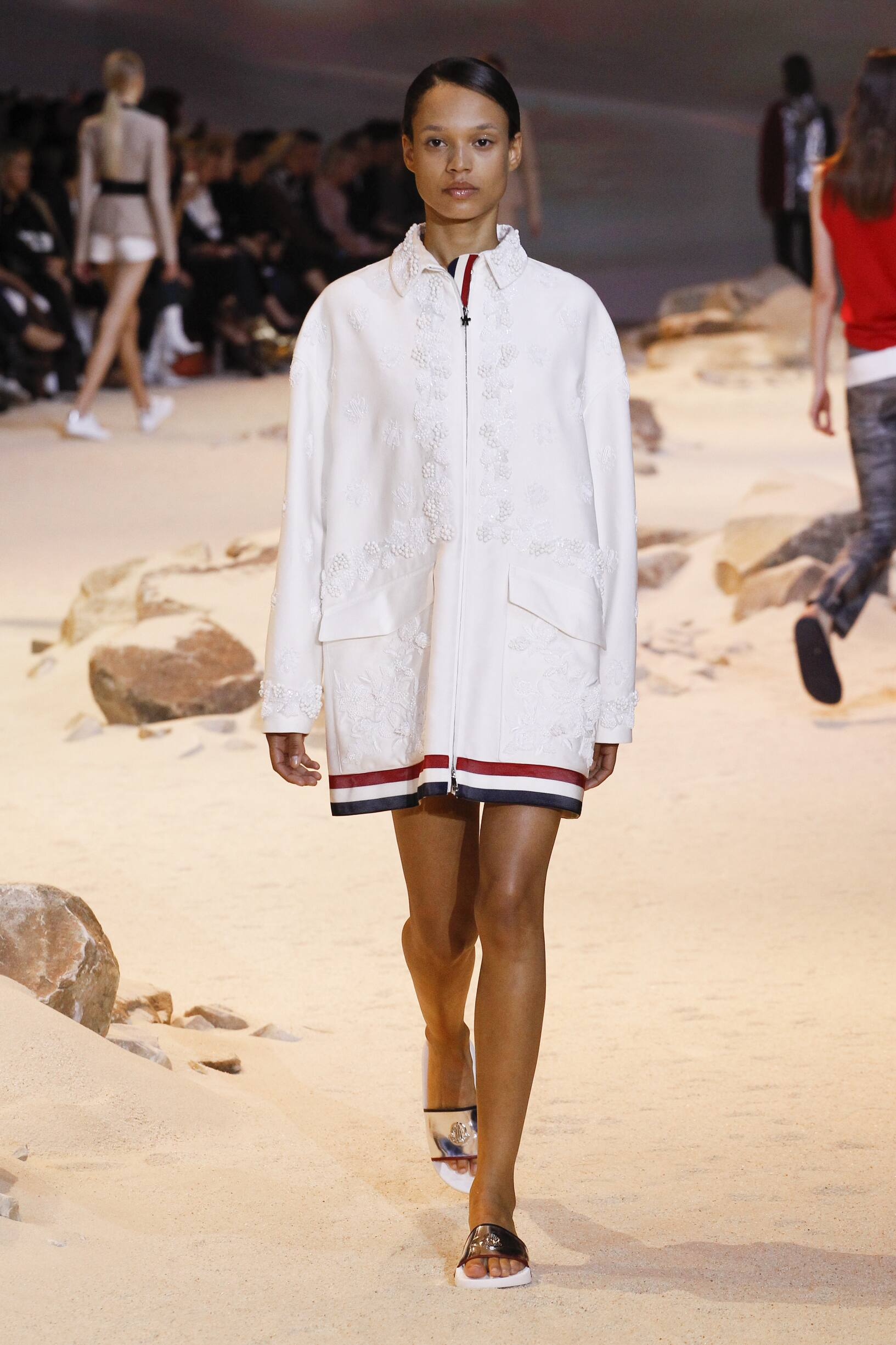Moncler Gamme Rouge Paris Fashion Week Womenswear