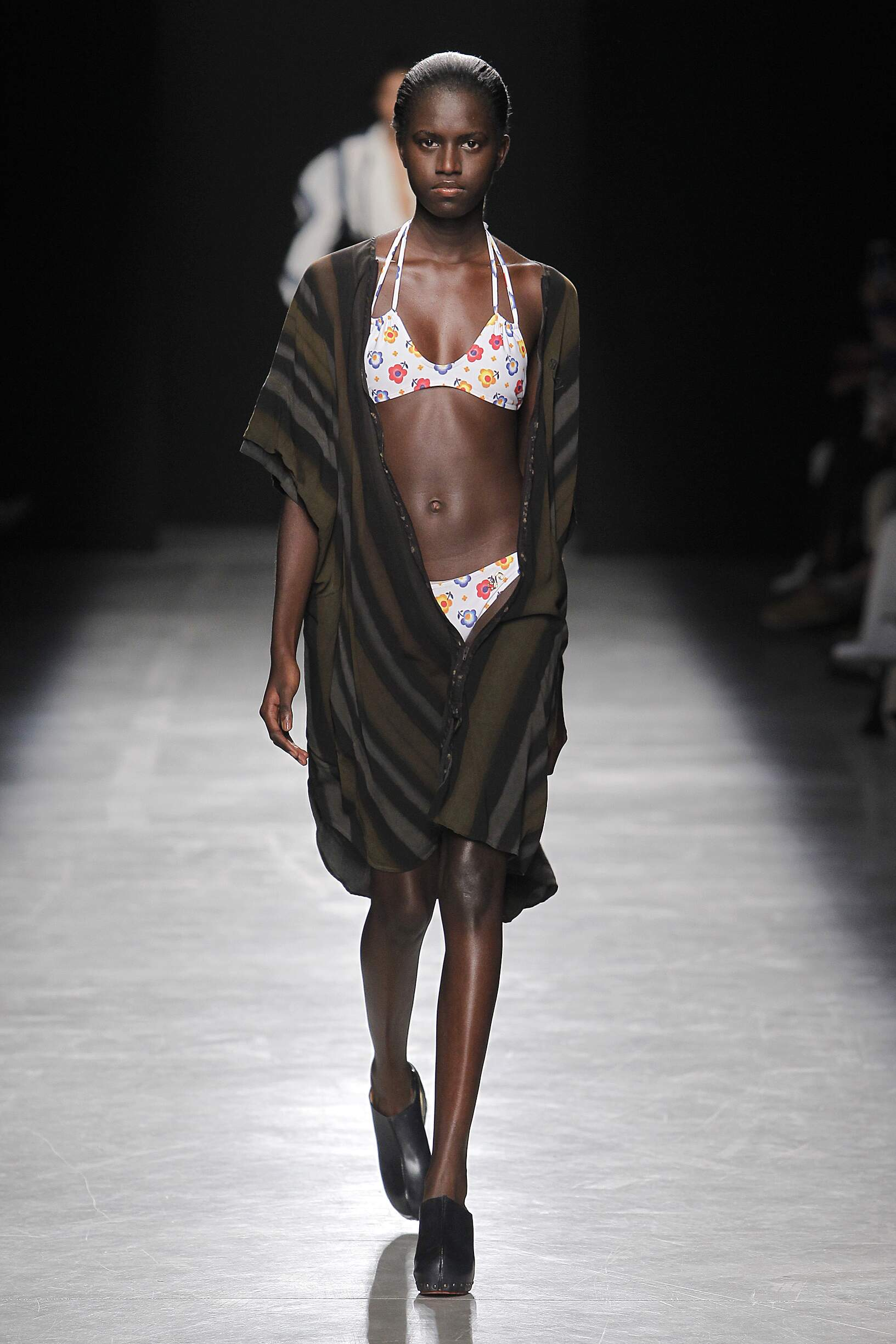 Runway Andreas Kronthaler for Vivienne Westwood Spring Summer 2017 Women's Collection Paris Fashion Week