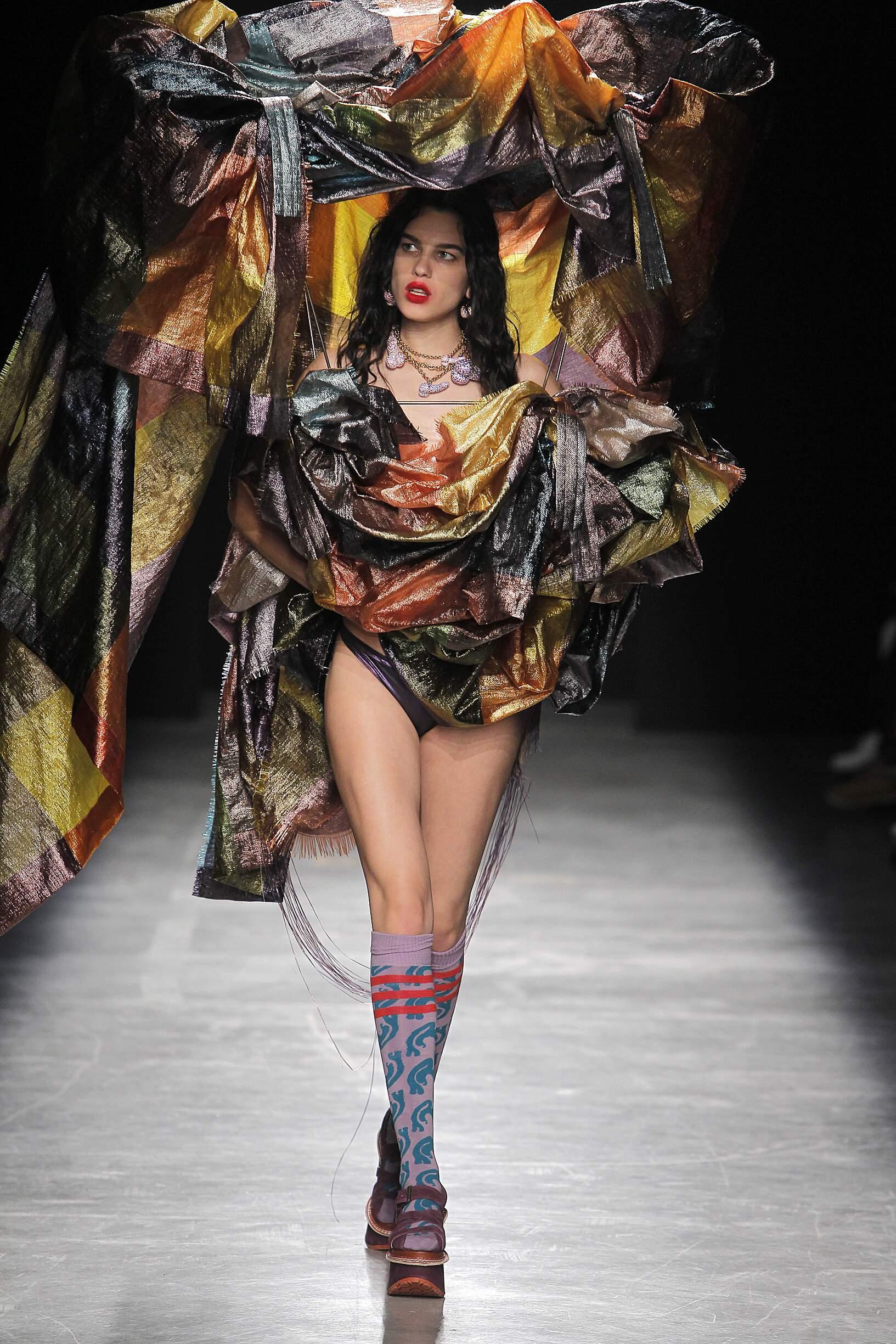 SS 2017 Andreas Kronthaler for Vivienne Westwood Fashion Show Paris