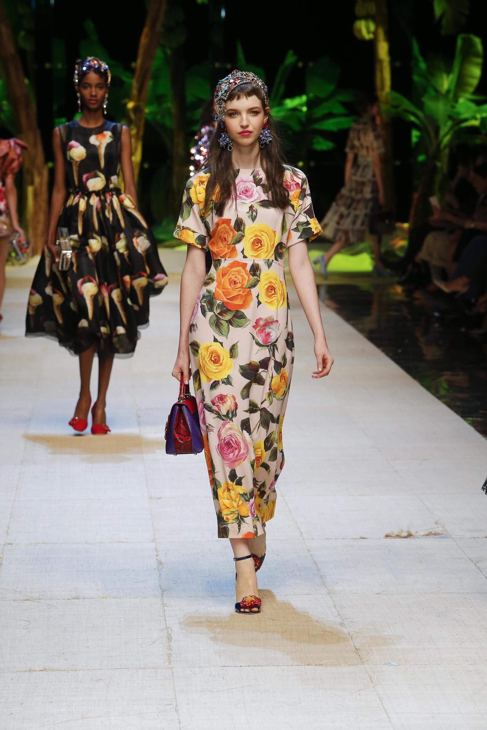 SS 2017 Fashion Show Dolce & Gabbana