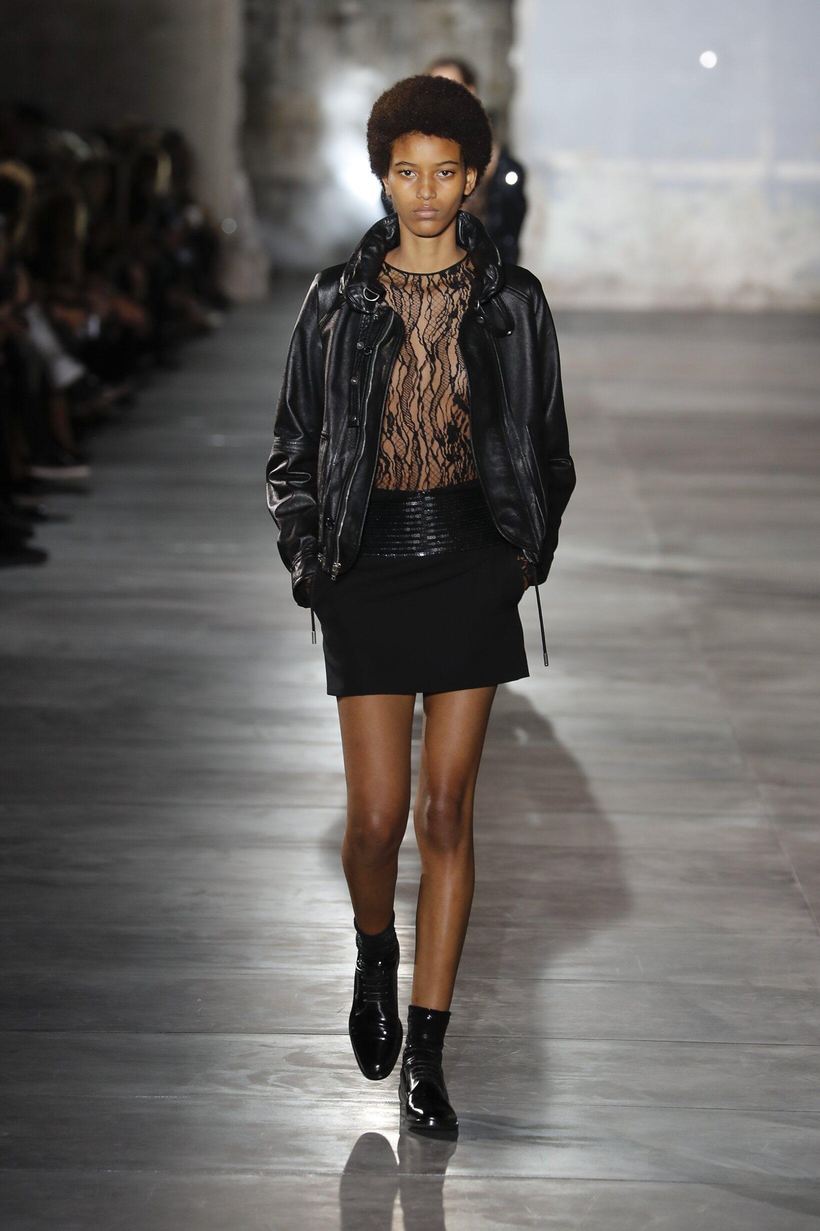 SS 2017 Saint Laurent Fashion Show Paris