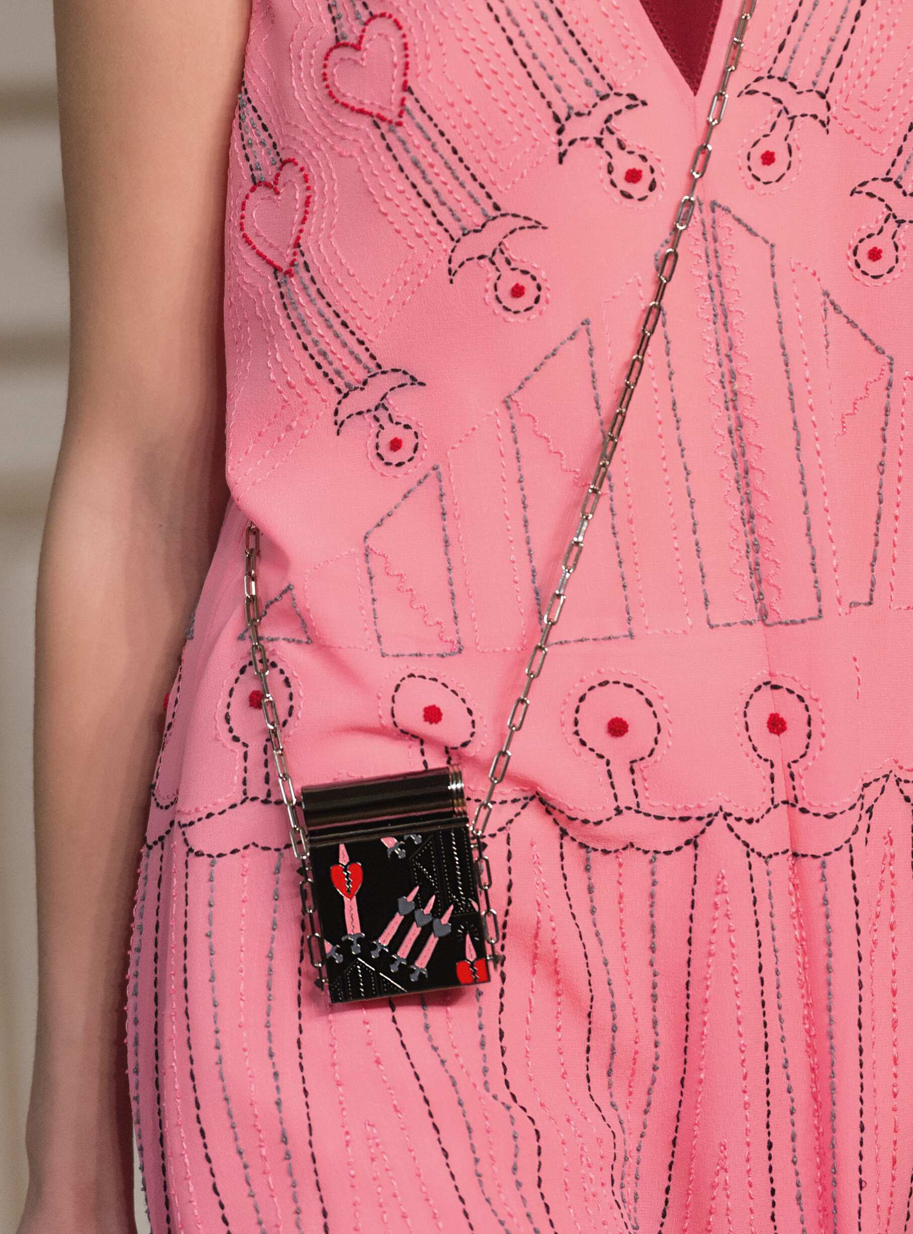 SS 2017 Valentino Bag Detail
