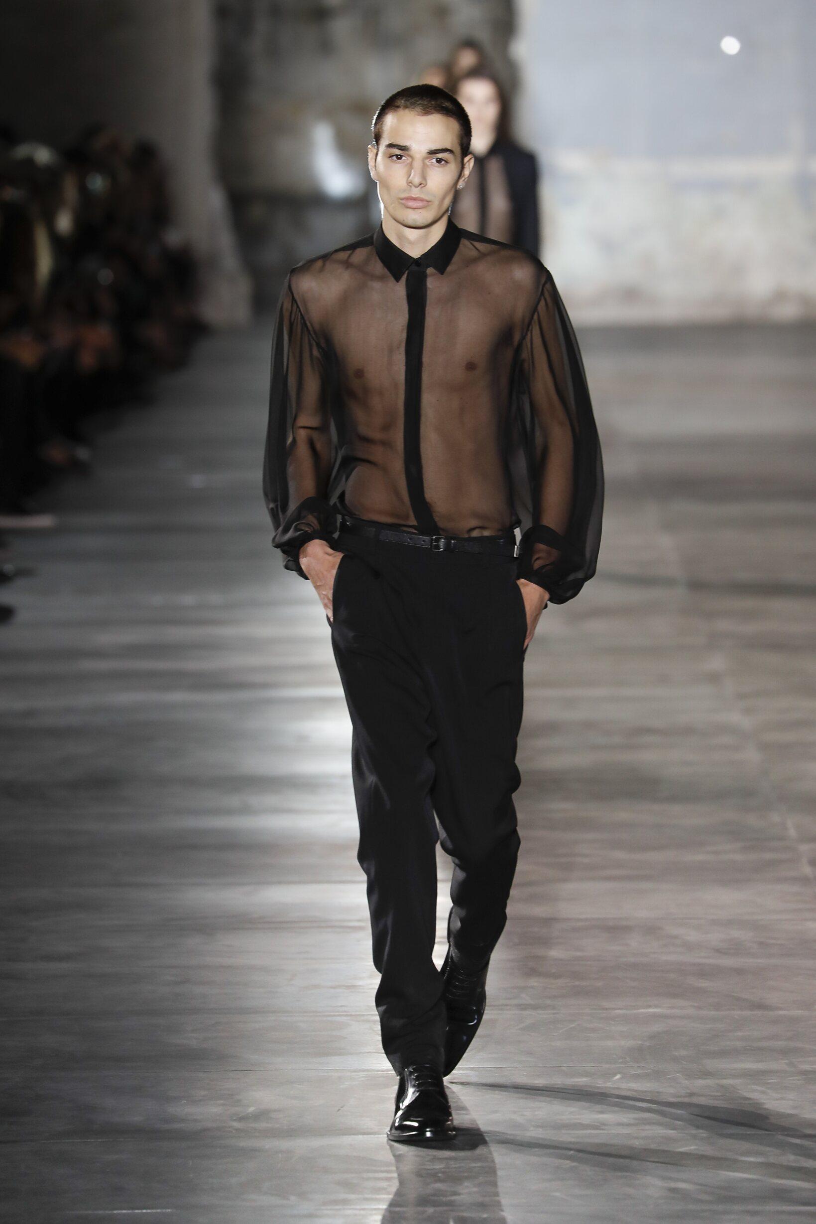 Saint Laurent Menswear Collection 2017