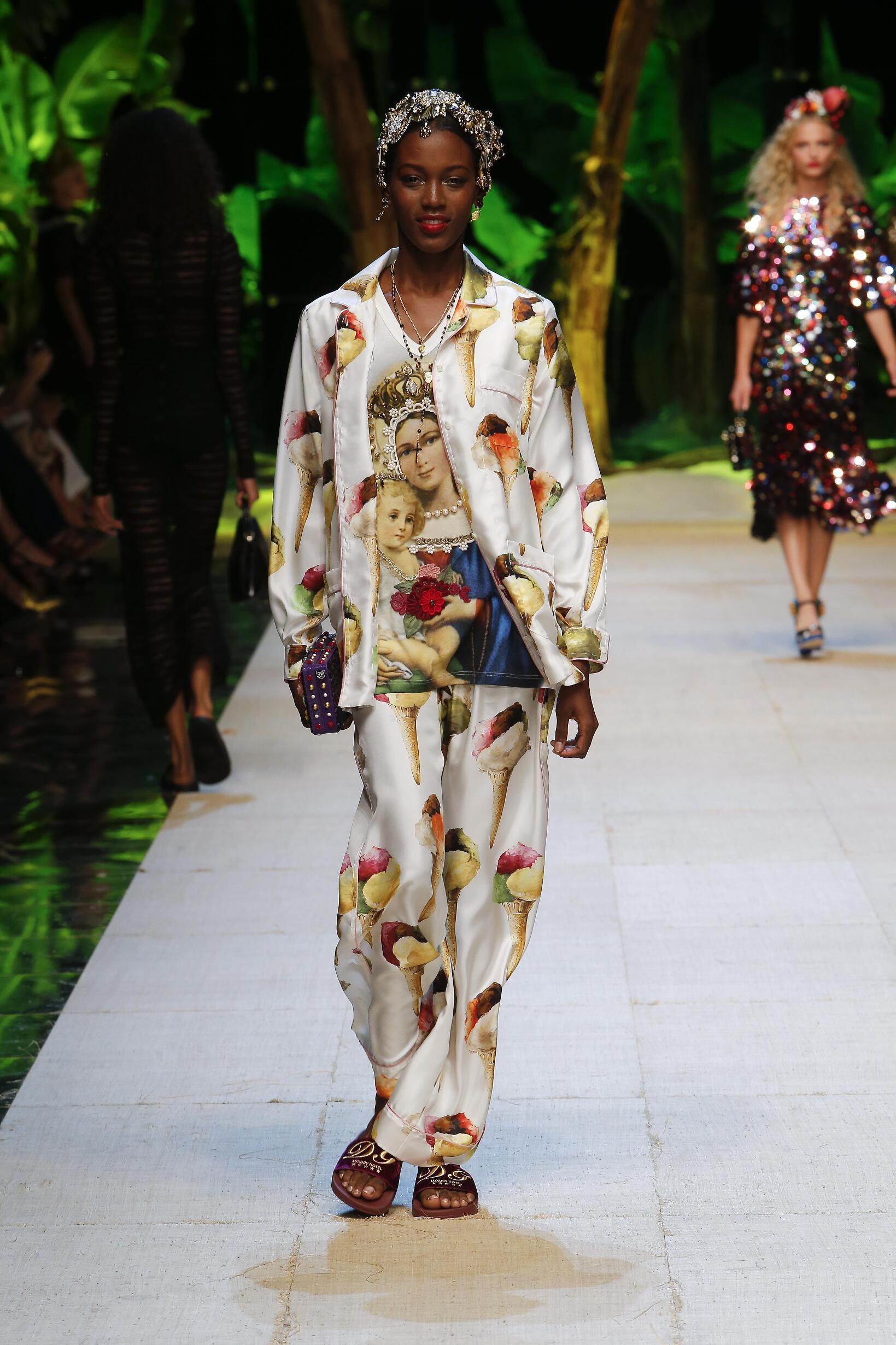 Spring 2017 Womenswear Dolce & Gabbana