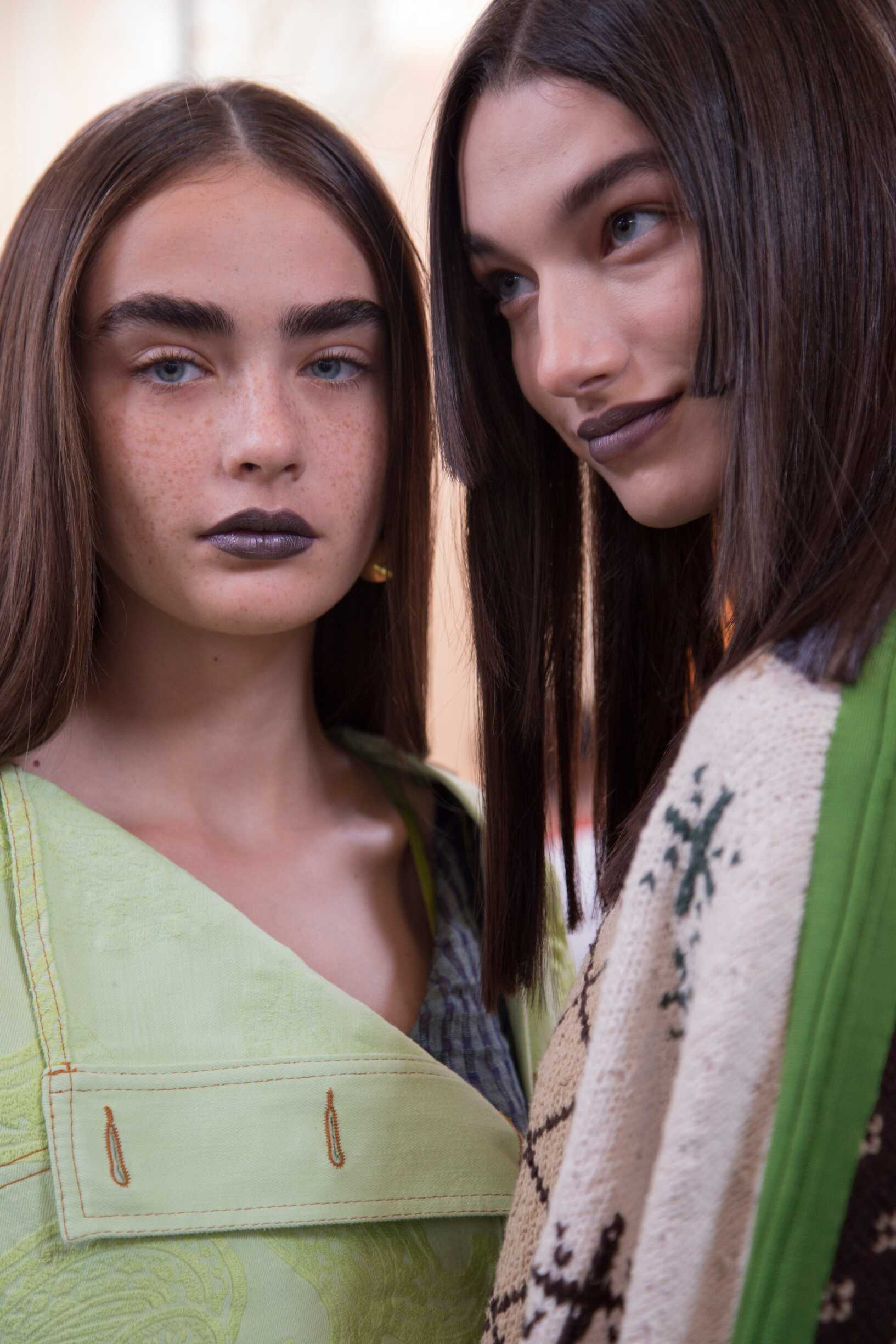 Spring Summer Models Backstage Acne Studios