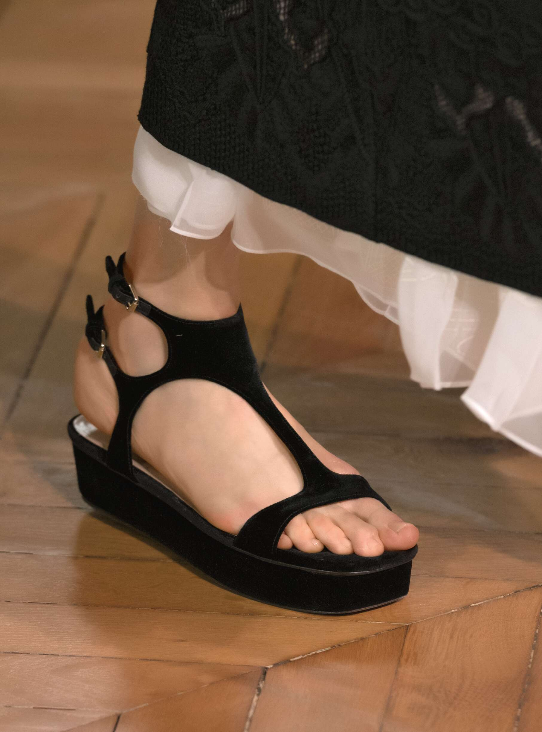Valentino Spring Summer 2017 Womens Shoe Detail