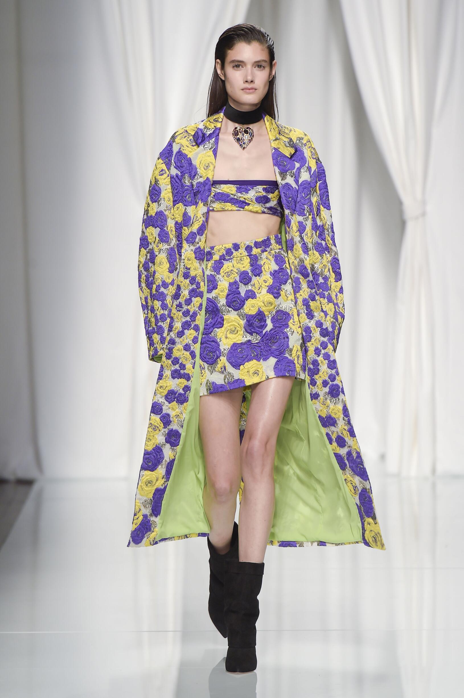 Womenswear Spring Summer Emanuel Ungaro 2017