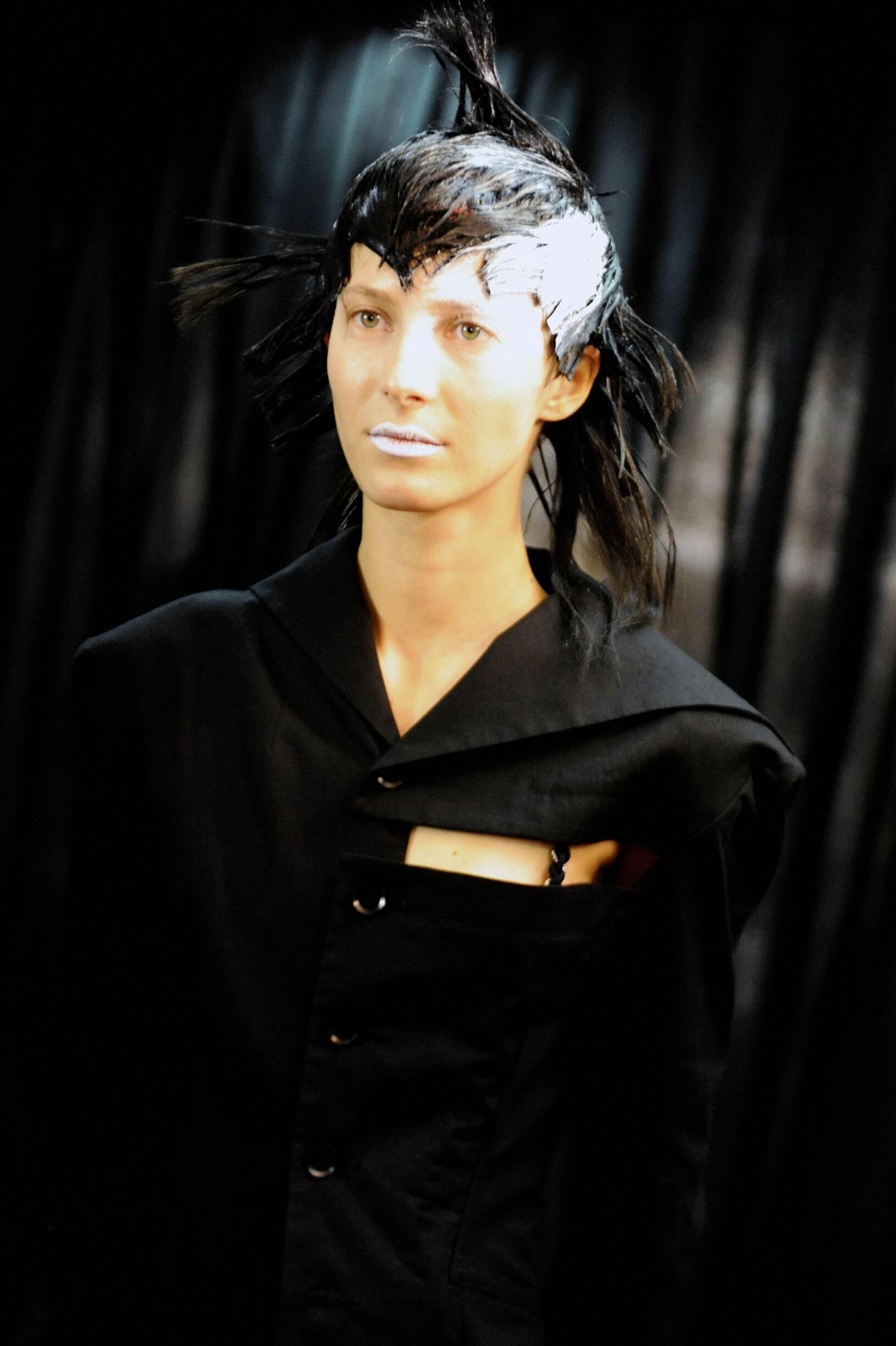 Womenswear Yohji Yamamoto Backstage