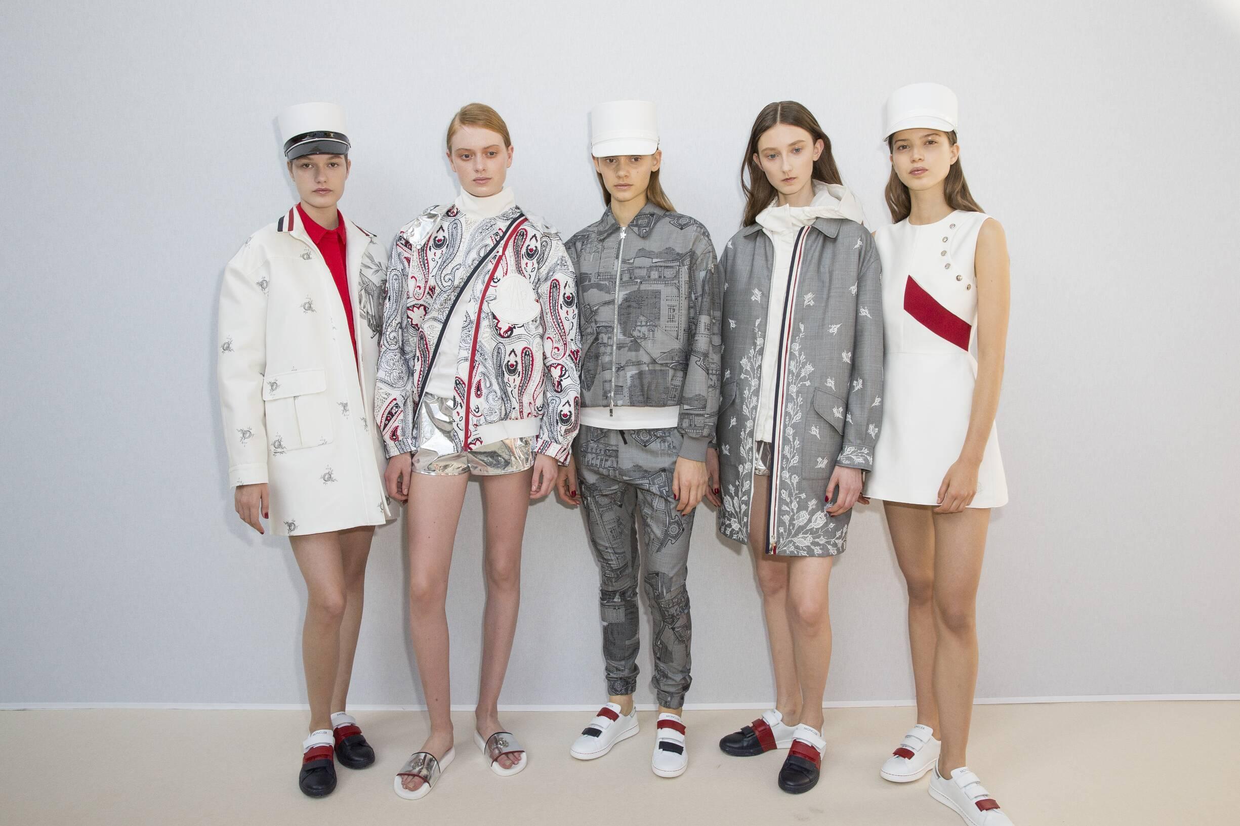 Backstage Models Moncler Gamme Rouge