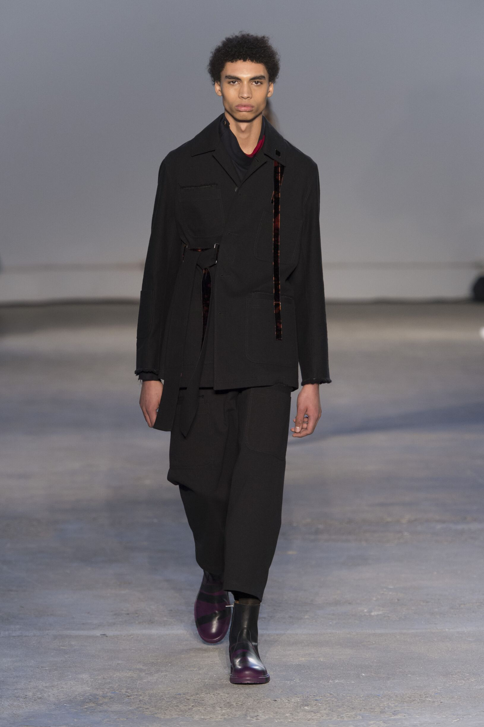 2017 Catwalk Damir Doma Man Fashion Show Winter