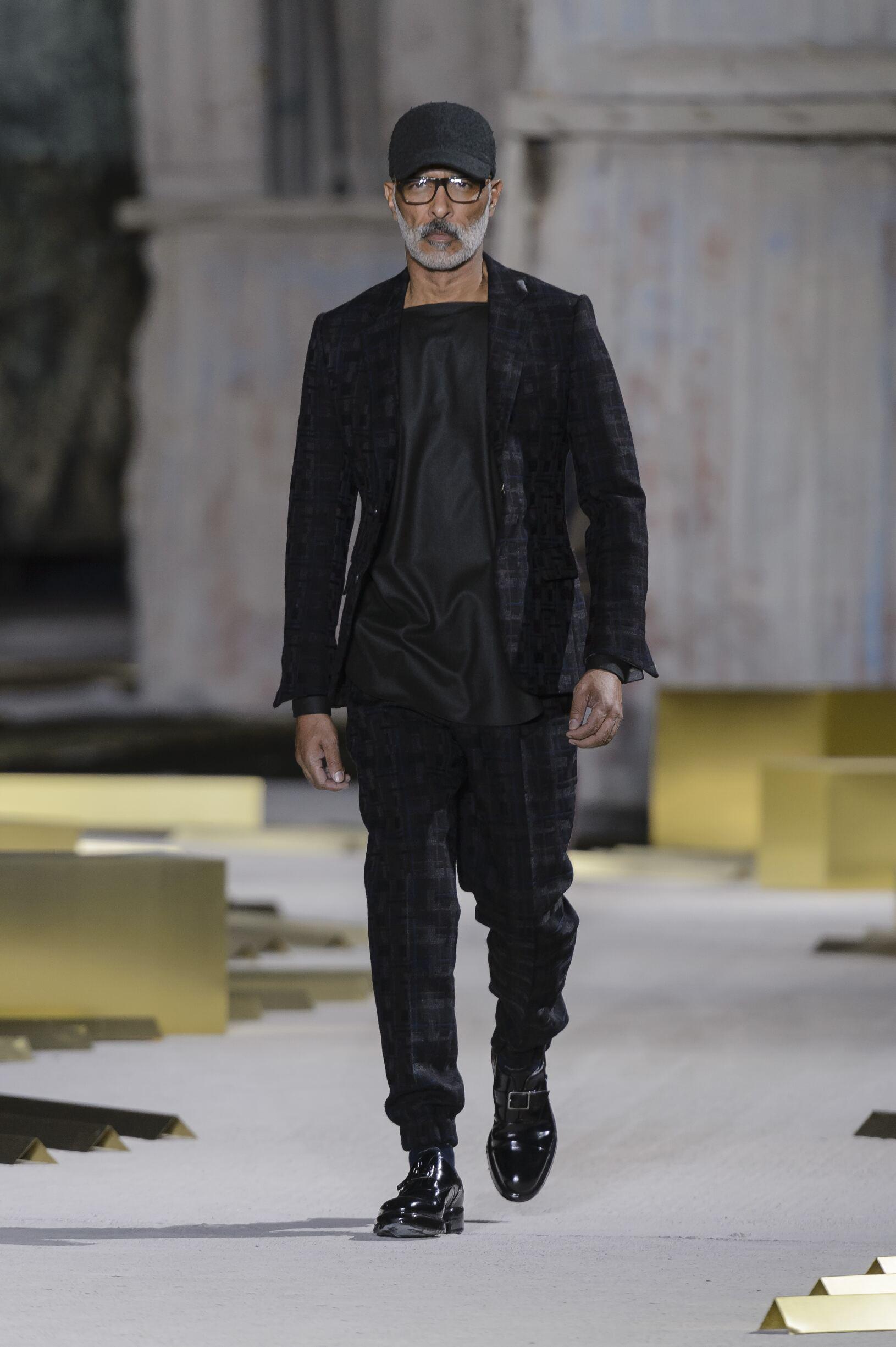 2017 Catwalk Ermenegildo Zegna Man Fashion Show Winter