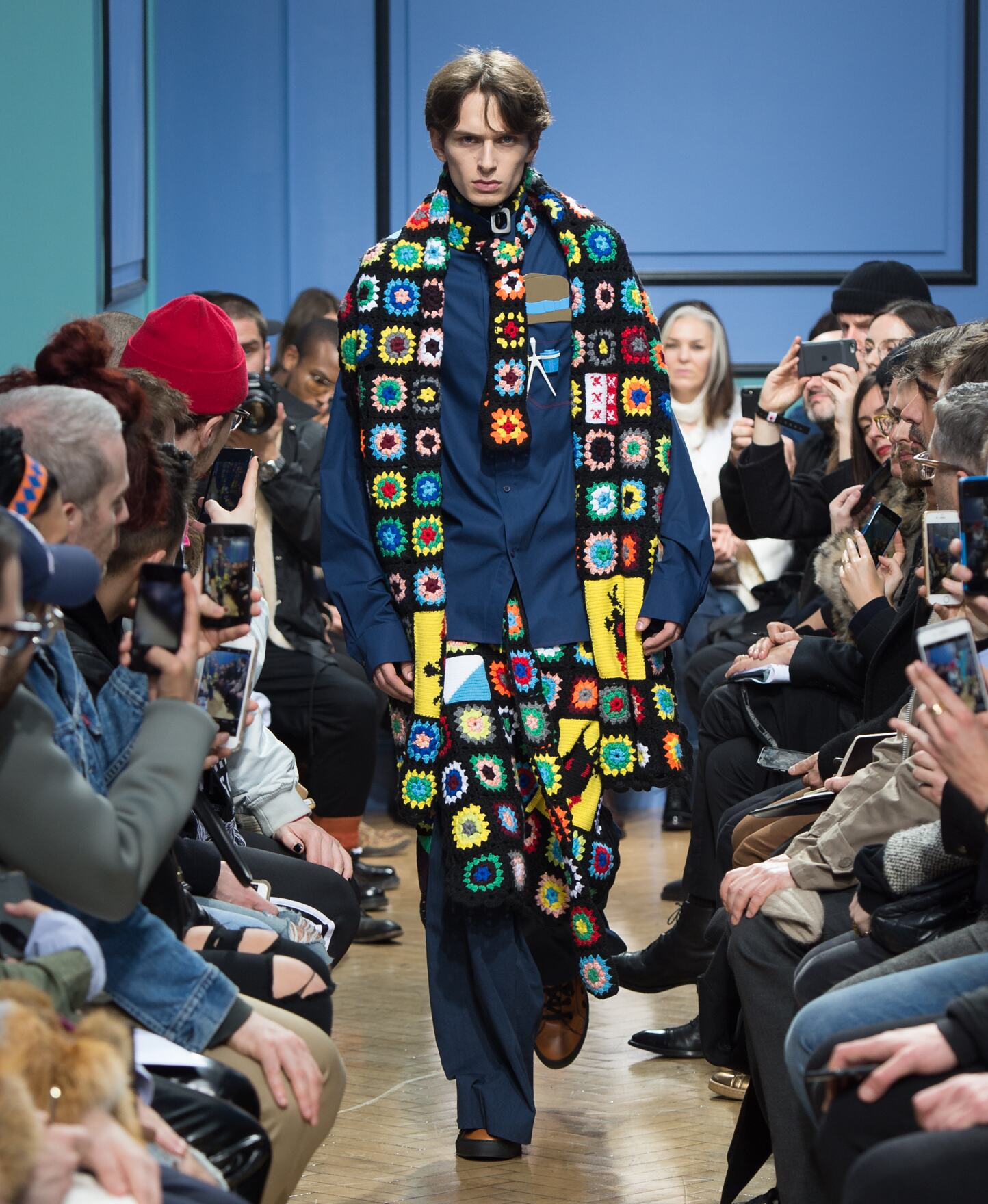2017 Catwalk J.W Anderson Man Fashion Show Winter