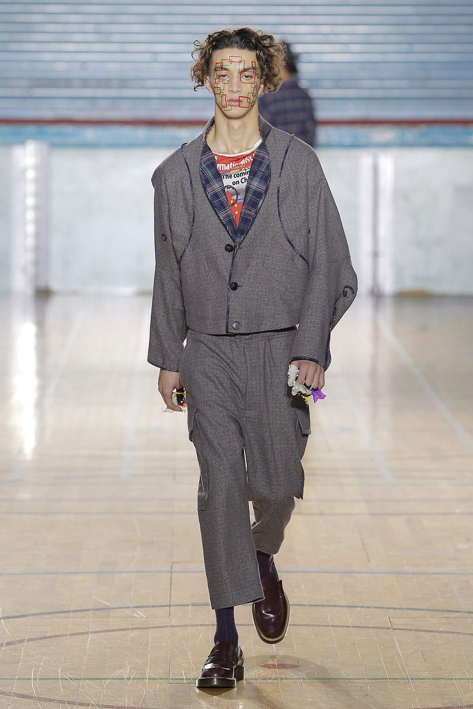 2017 Catwalk Vivienne Westwood Man Fashion Show Winter