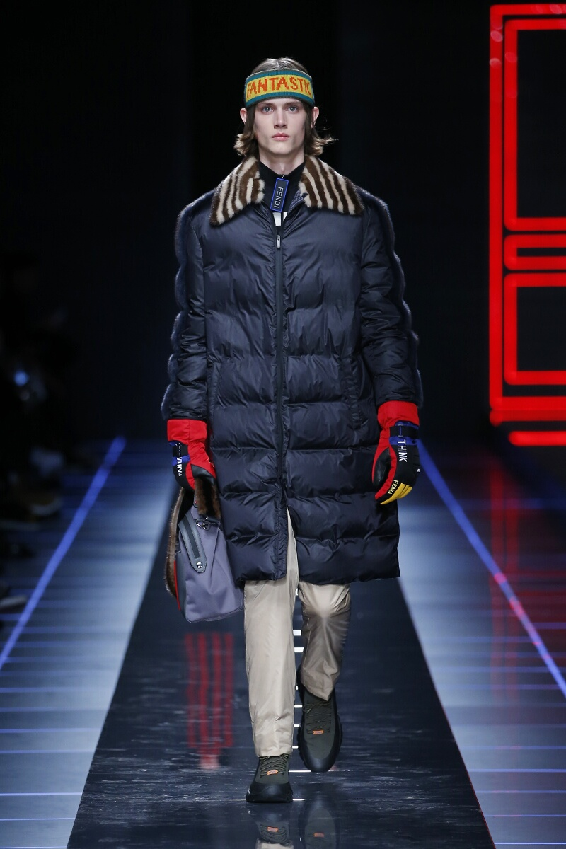 2017 Fendi Winter Catwalk