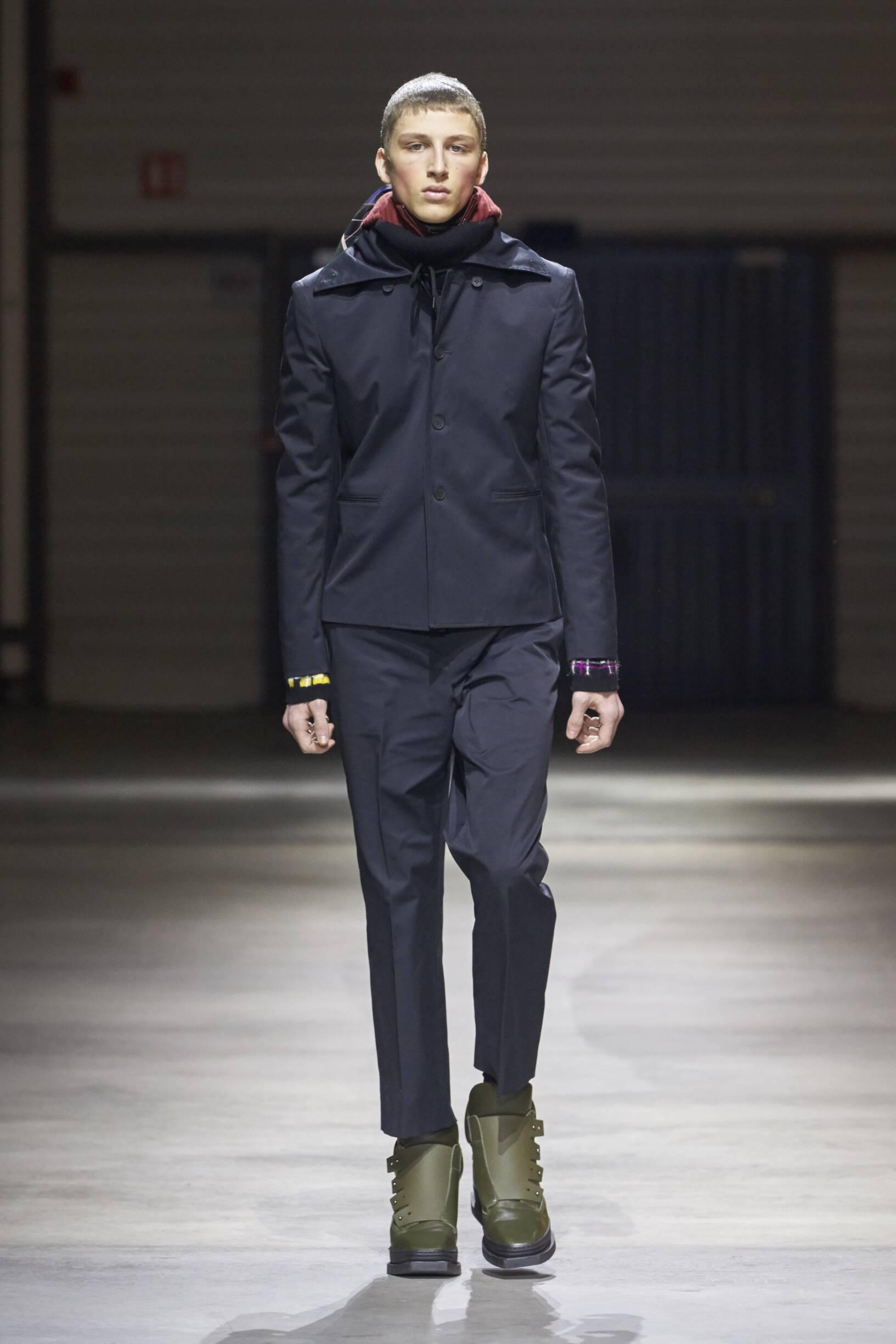 2017 Man Kenzo Winter Catwalk