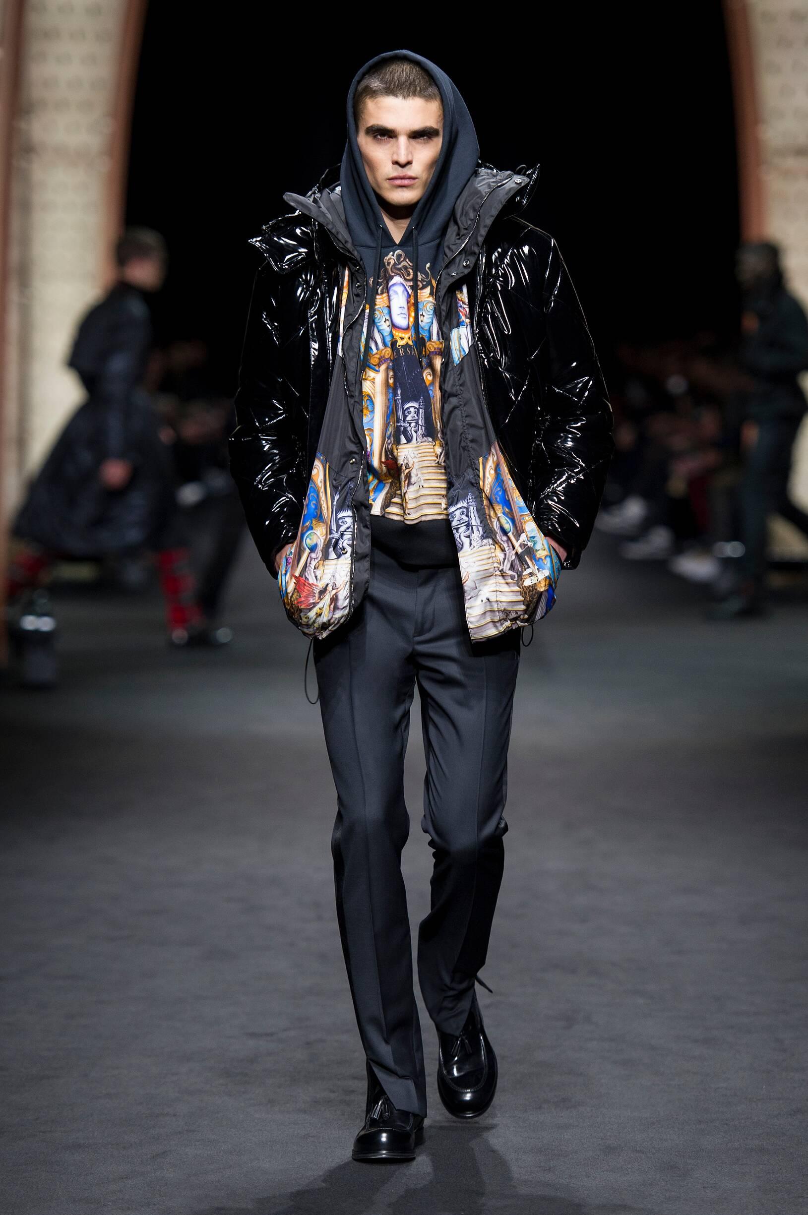 2017 Man Style Versace