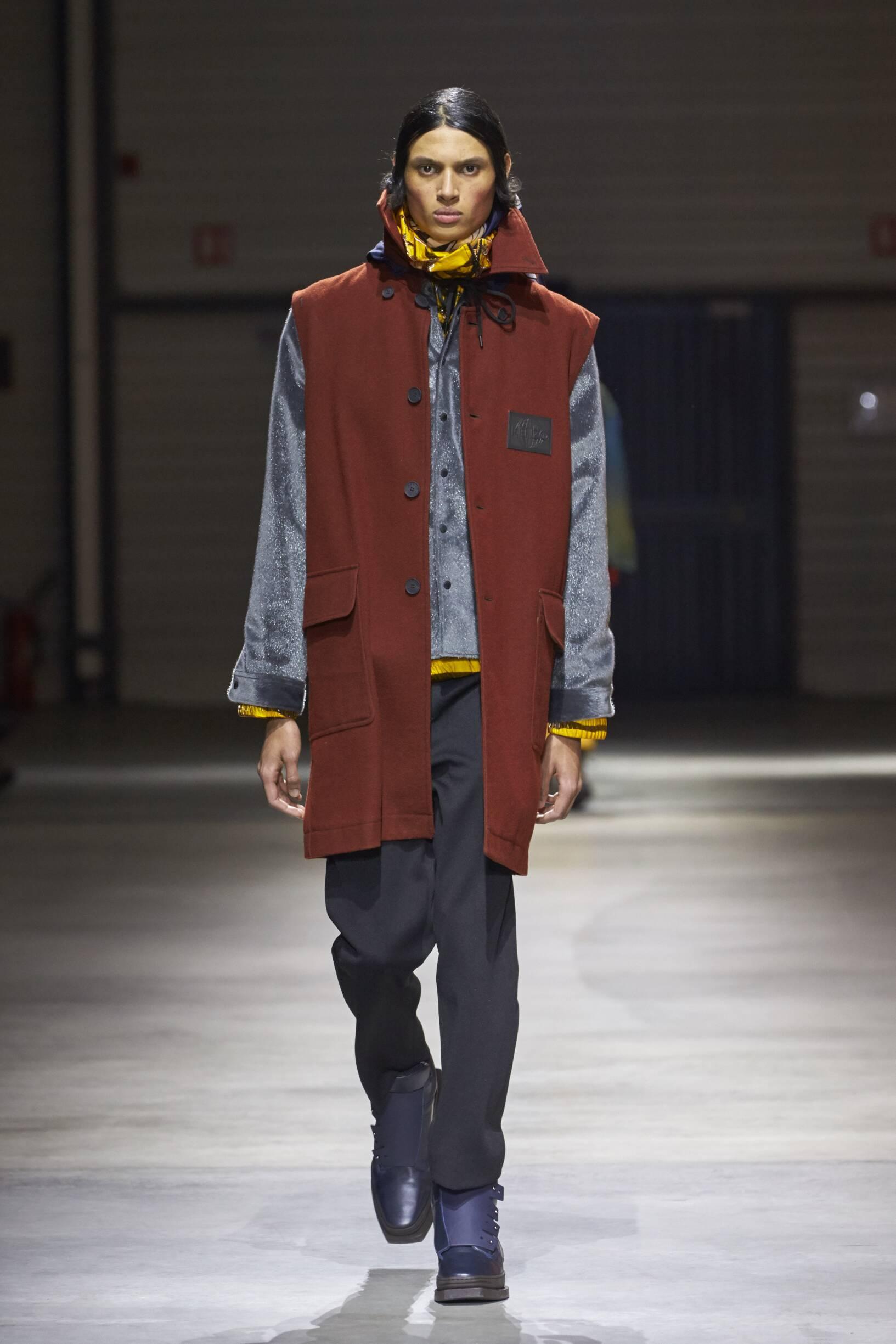 2017 Menswear Kenzo Catwalk