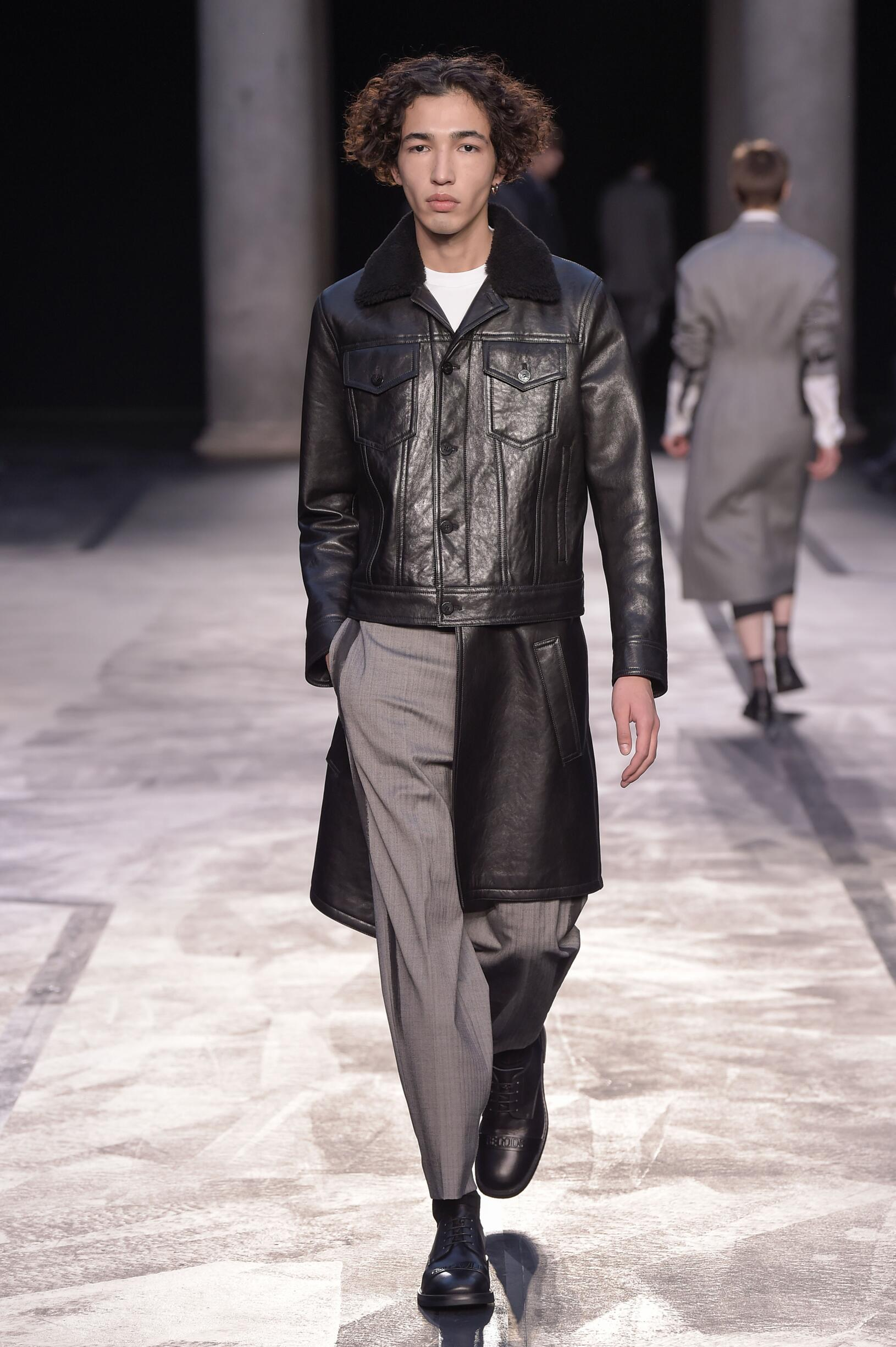 2017 Neil Barrett Winter Catwalk